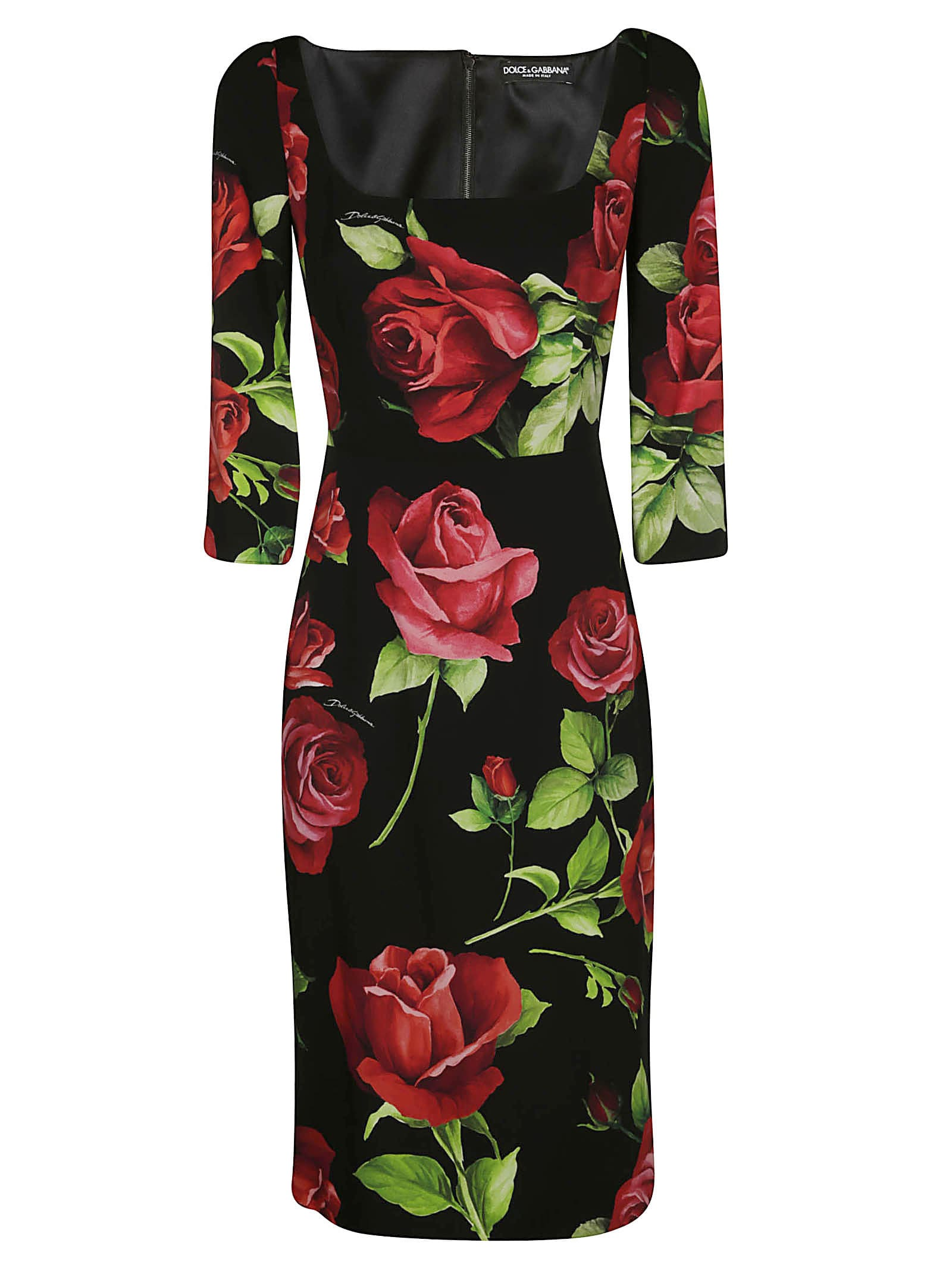 Dolce & Gabbana Portofino Print Dress