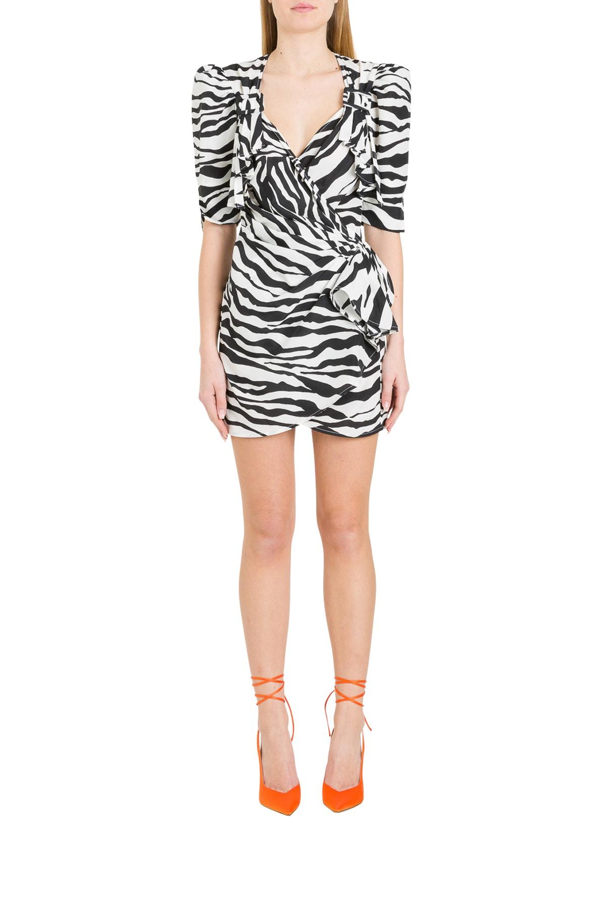 Buy The Attico Zebra Dress online, shop The Attico with free shipping