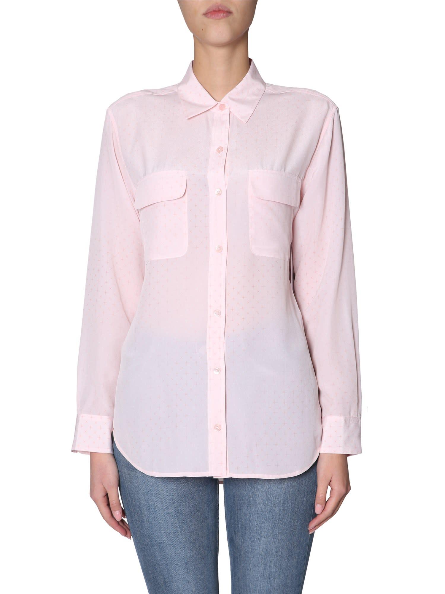 Equipment Silk Shirt