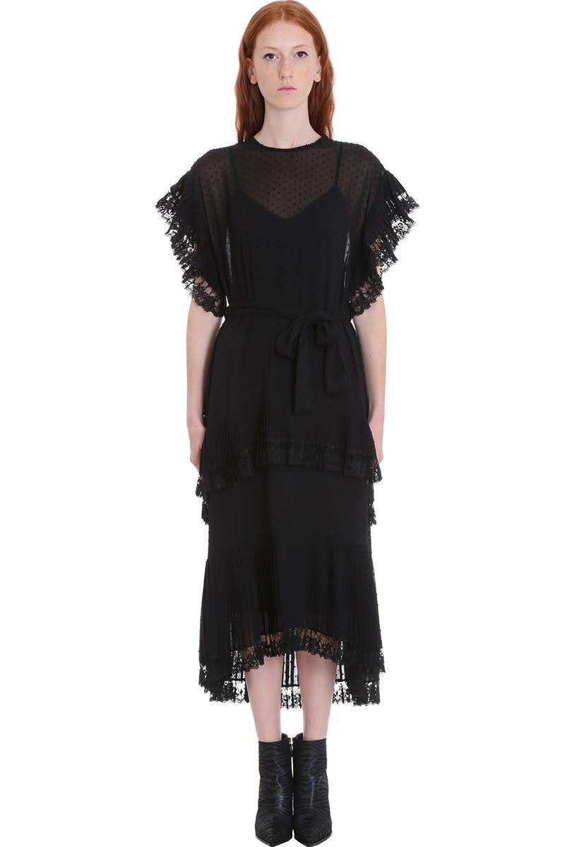 Zimmermann Dress In Black Silk
