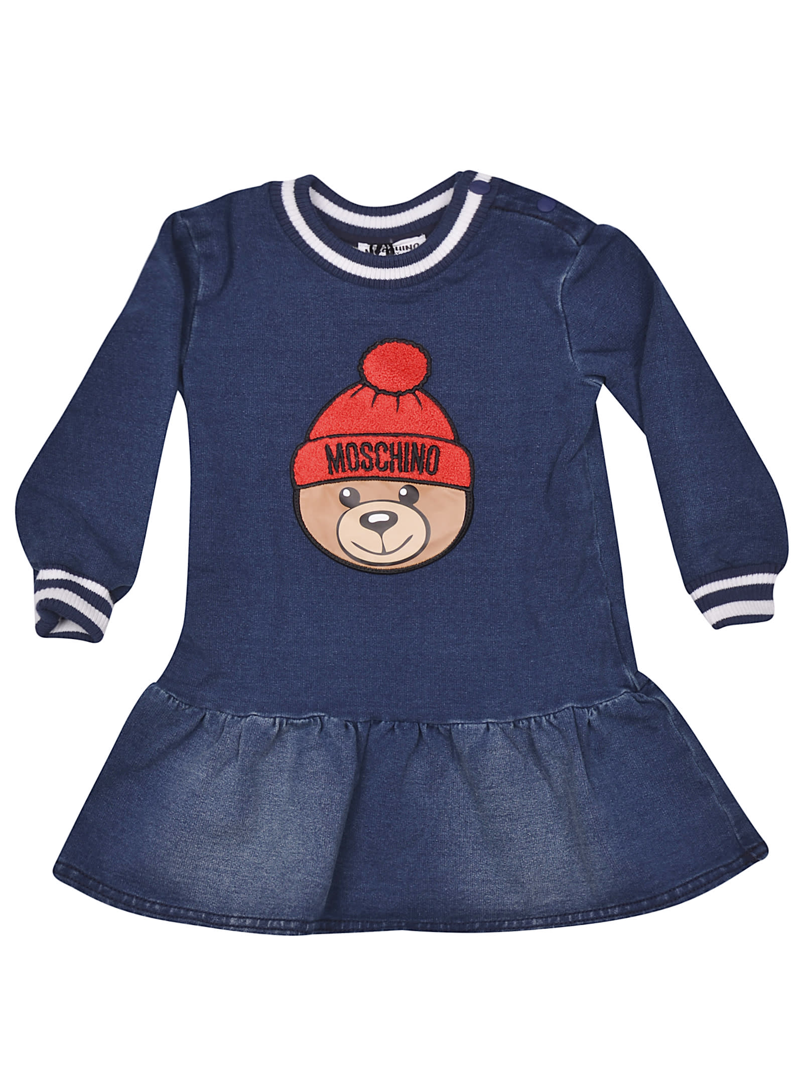 Moschino Bear Patch Dress