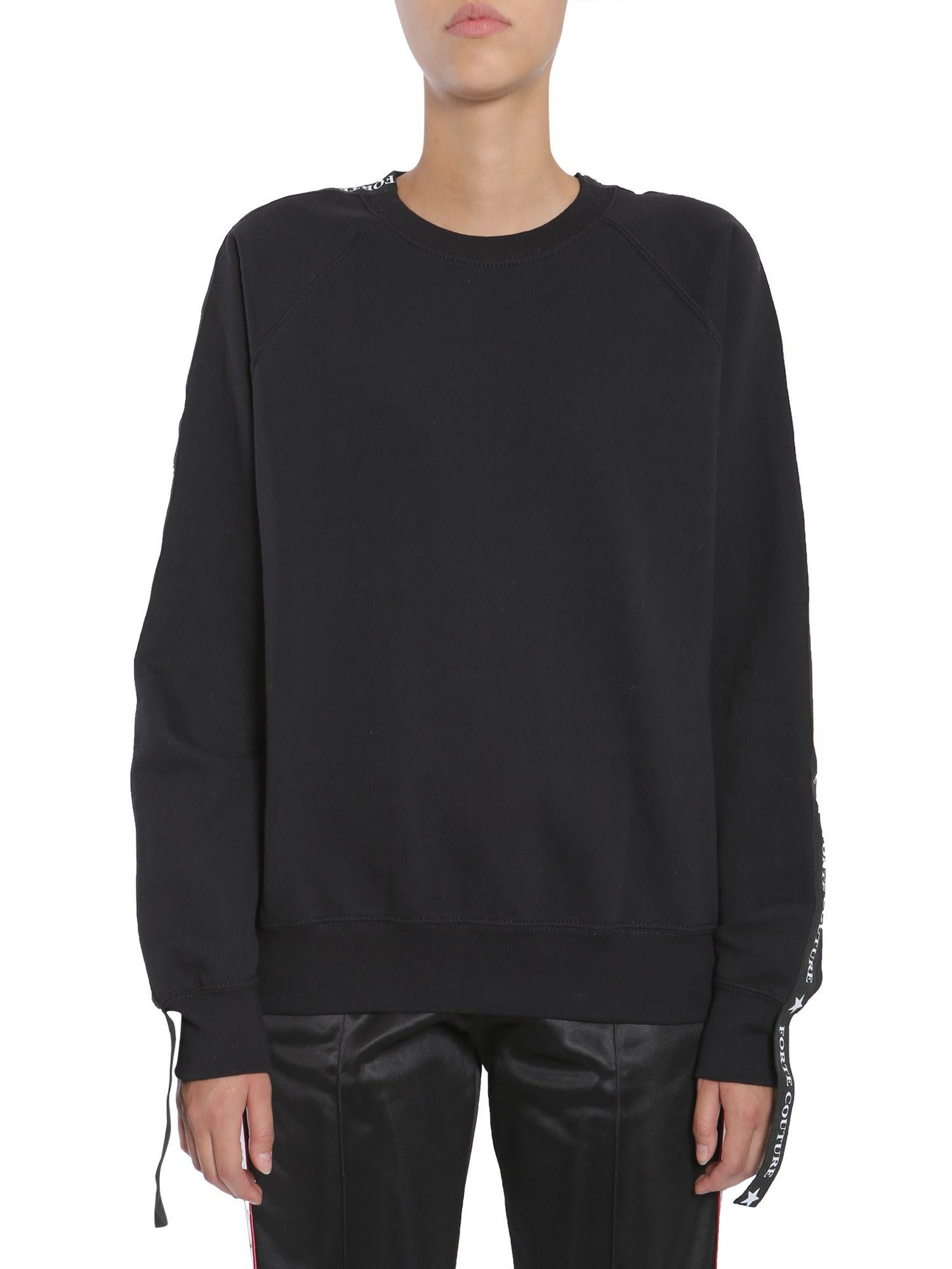 Sweatshirt With Side Logo Band