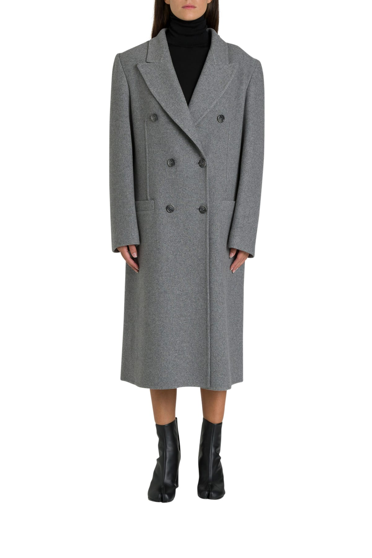 Maison Margiela Cashemre Double-breasted Coat