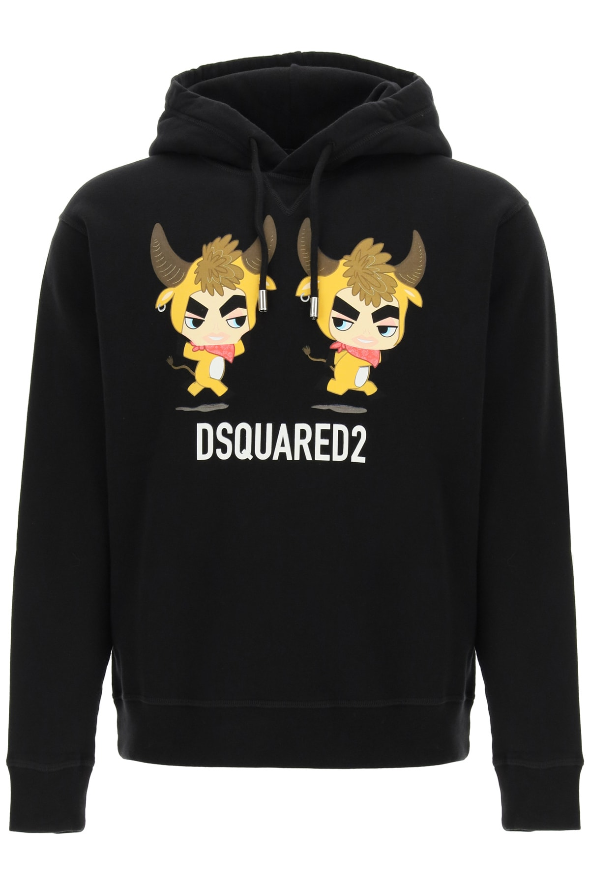 DSQUARED2 YEAR OF THE OX PRINT HOODIE