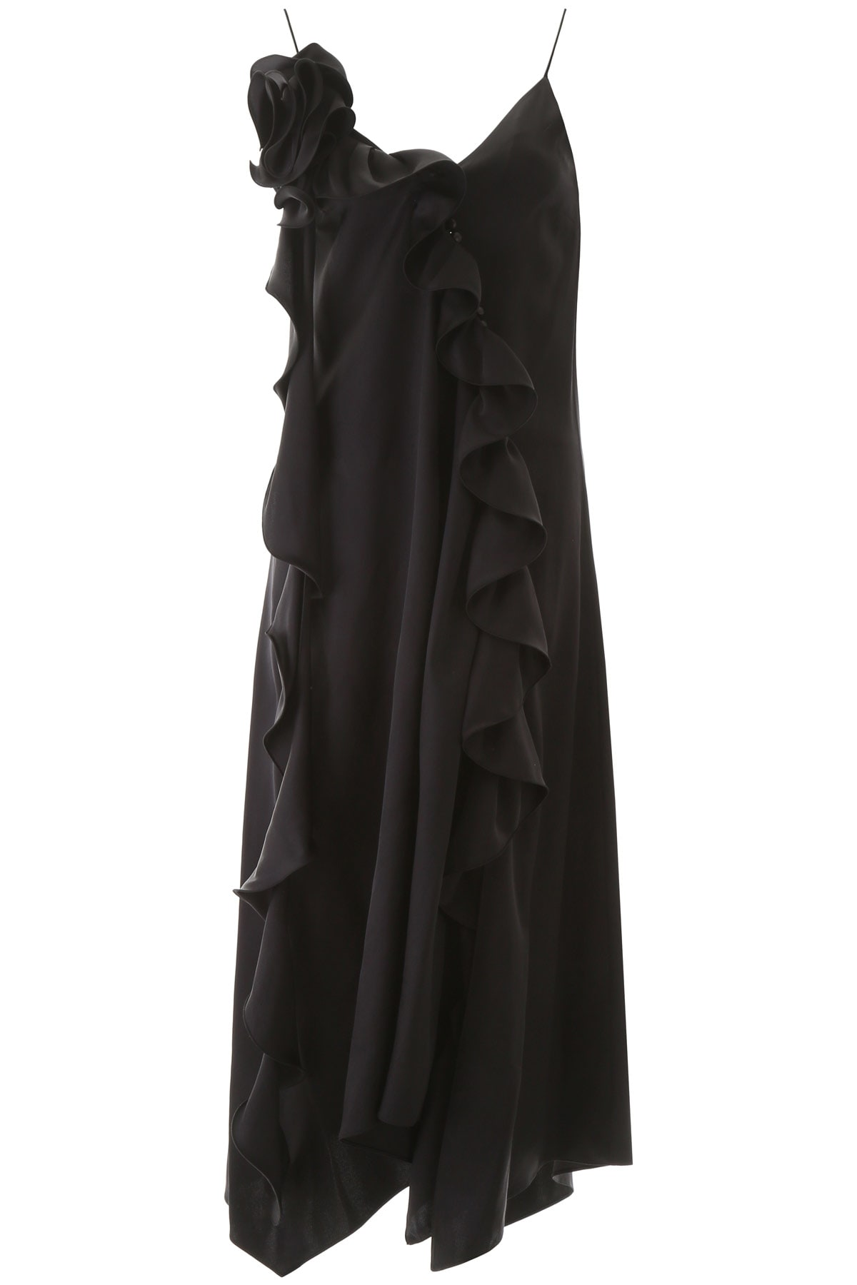 Buy Magda Butrym Delphi Ruffled Dress online, shop Magda Butrym with free shipping