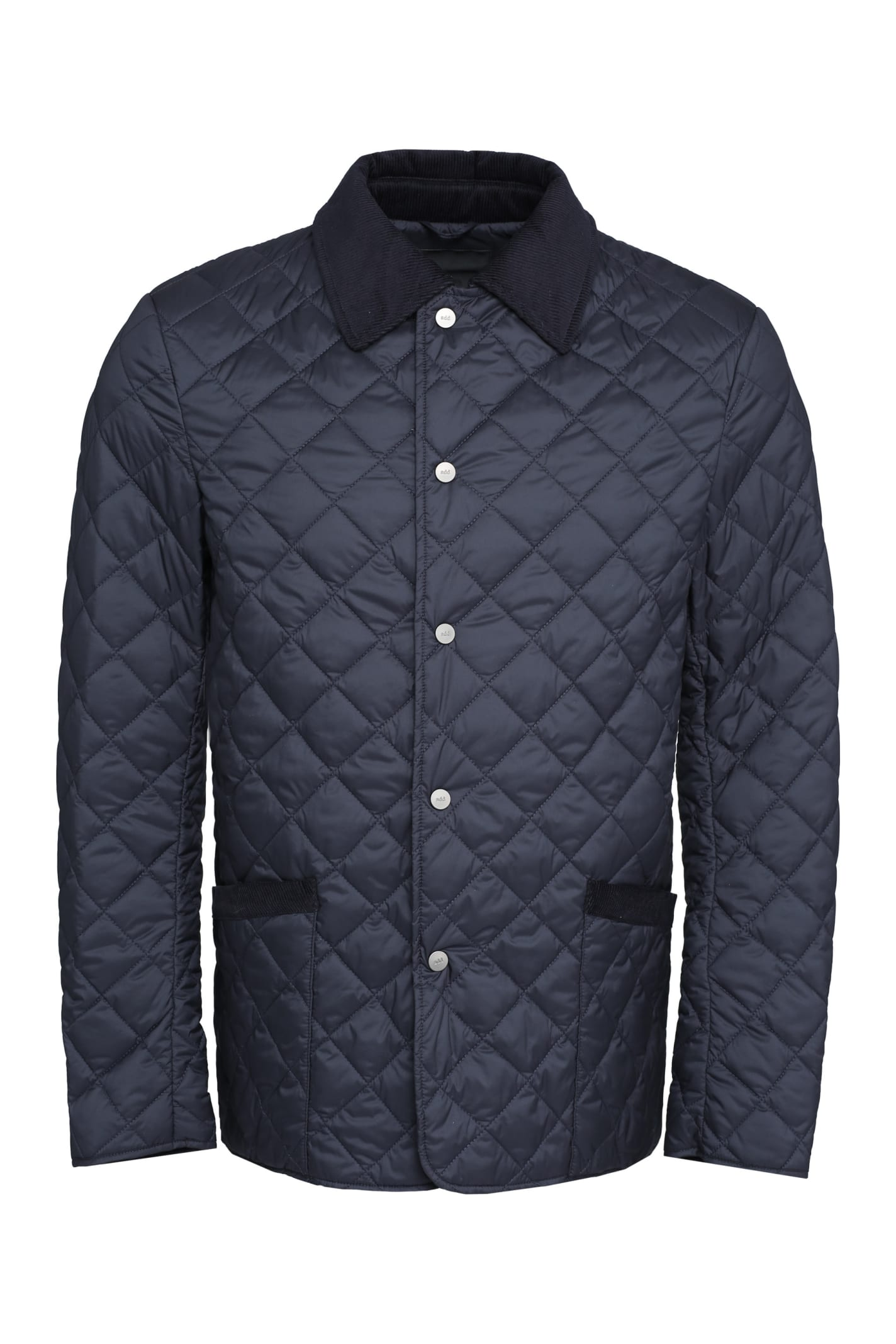 Snap Button Fastening Down Jacket