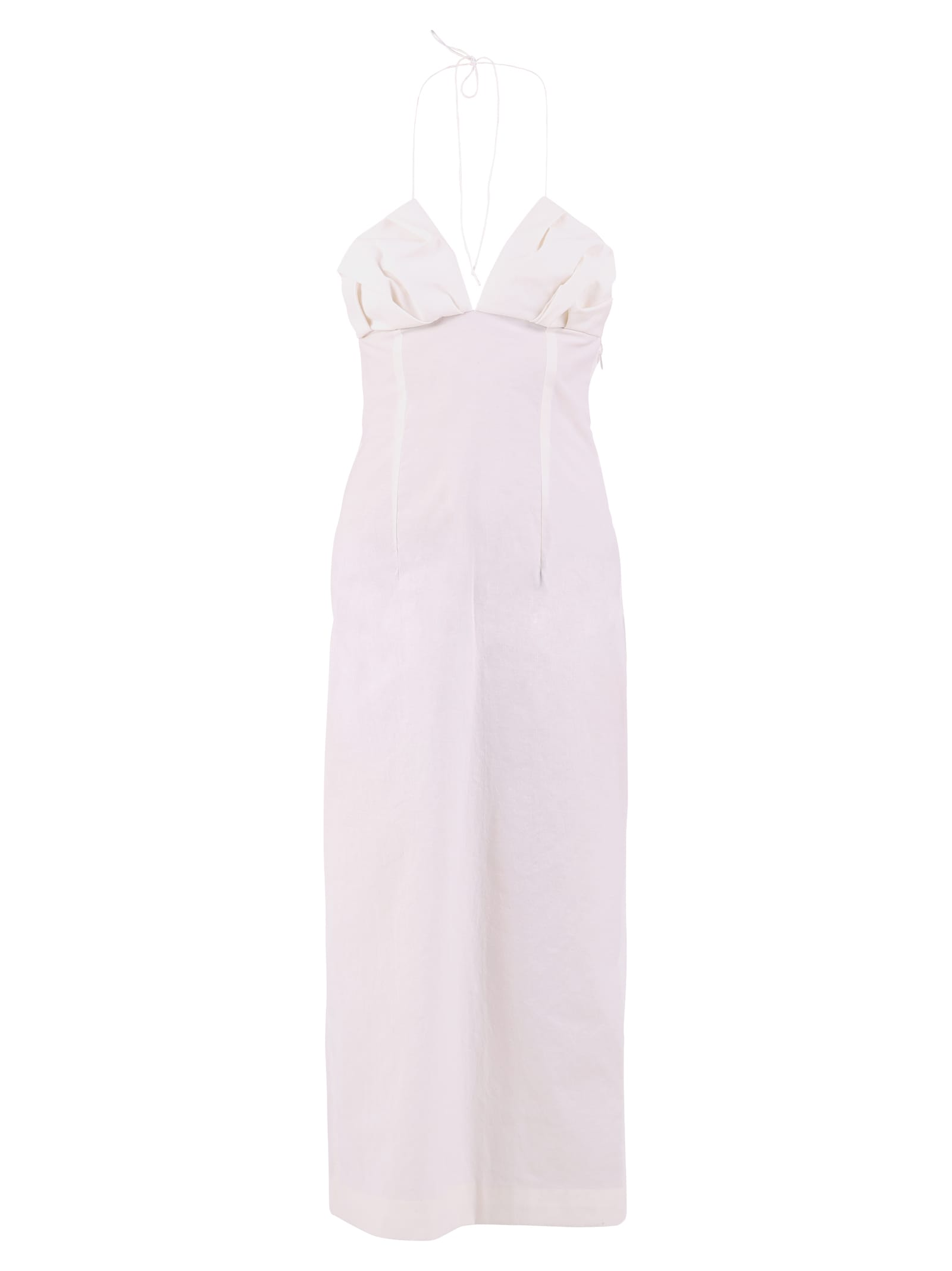 Buy Jacquemus Midi Dress online, shop Jacquemus with free shipping