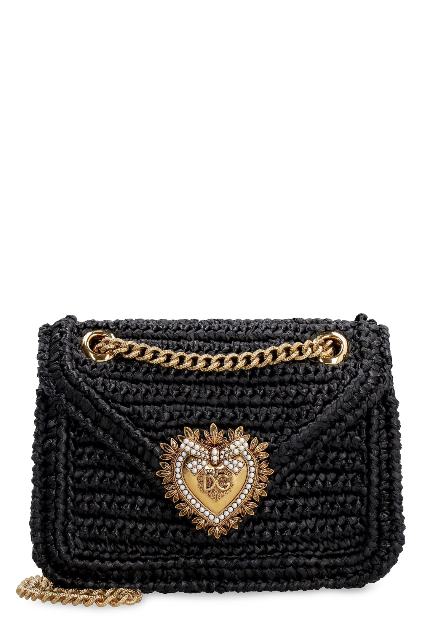 Dolce & Gabbana DEVOTION RAFFIA BAG