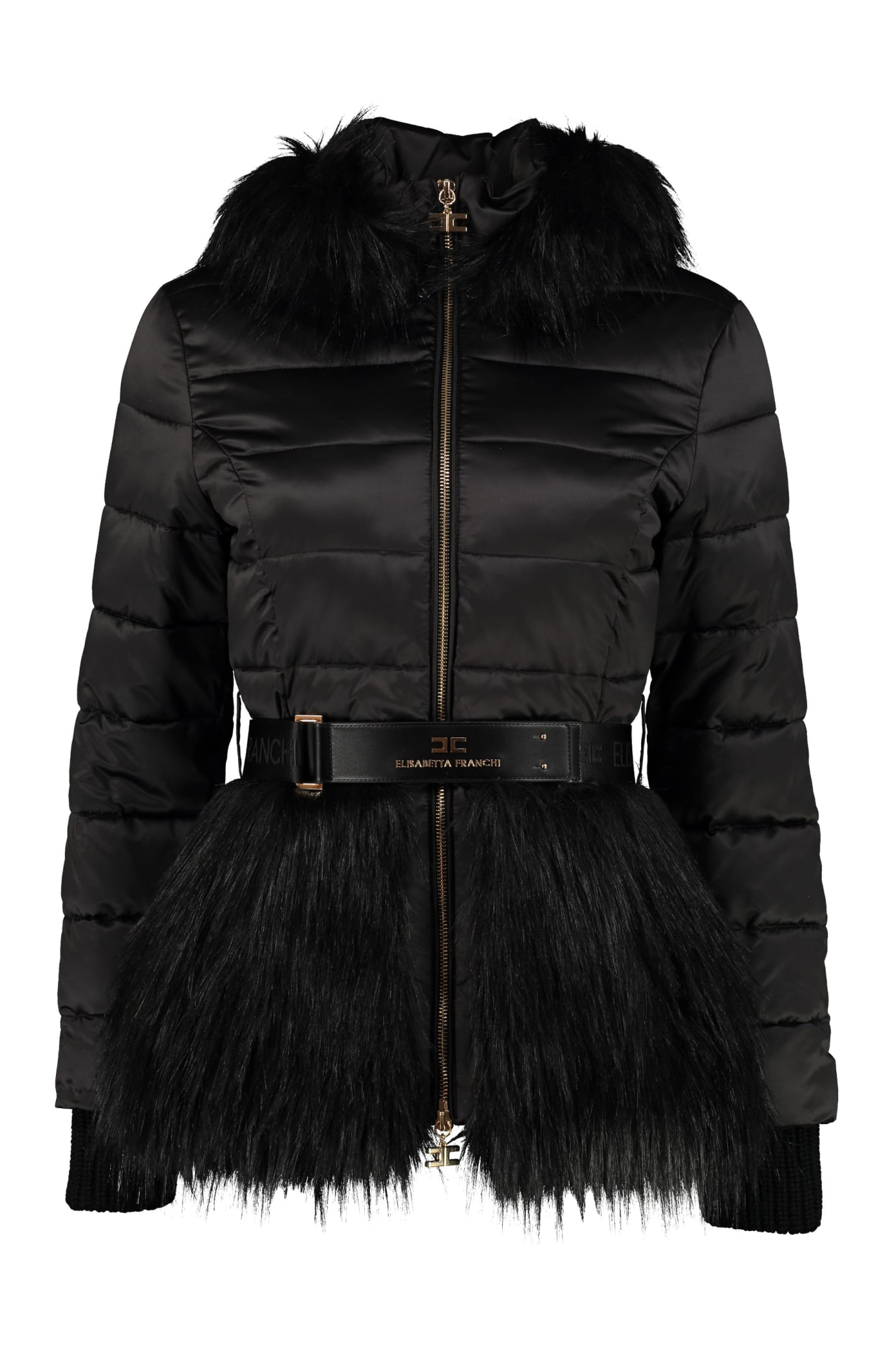 Elisabetta Franchi Celyn B. Hooded Down Jacket