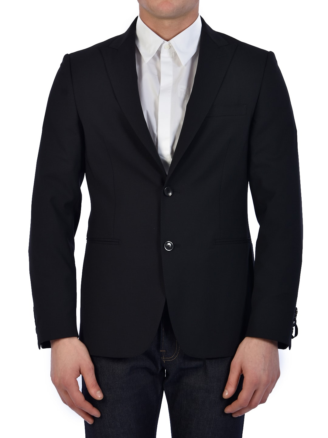 Tonello Black Wool Jacket