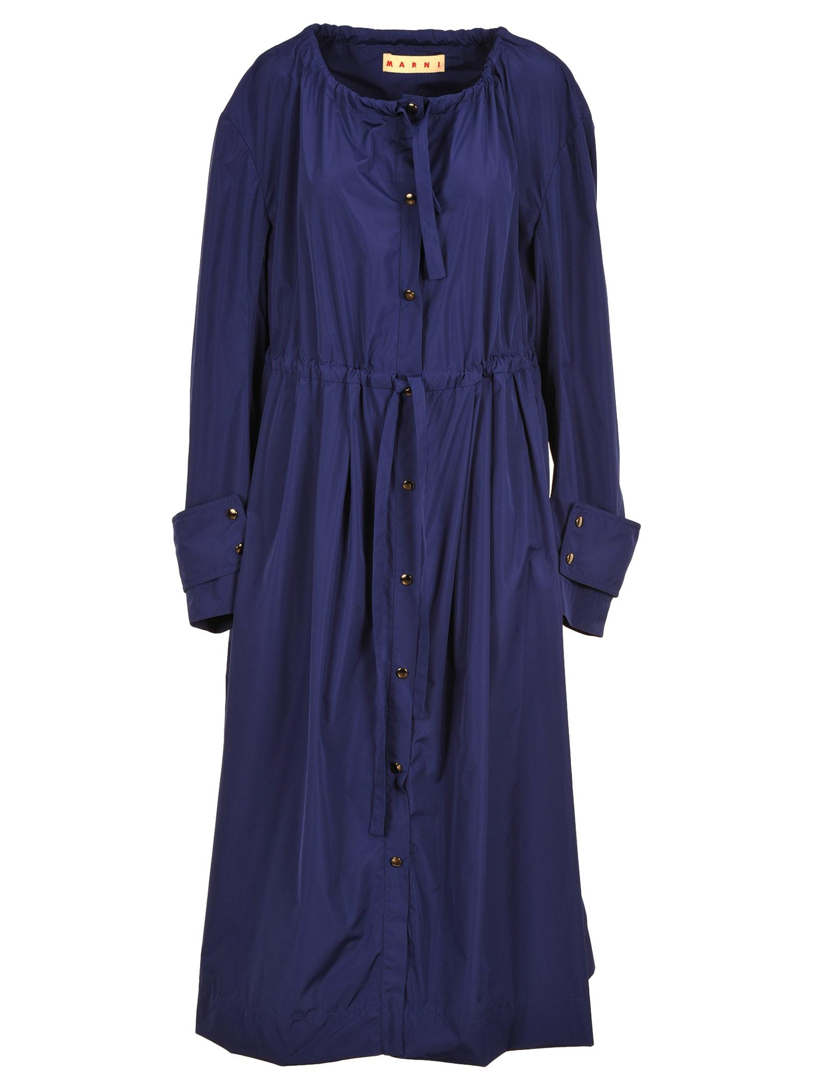 Marni Marni Drawstring Parka Coat