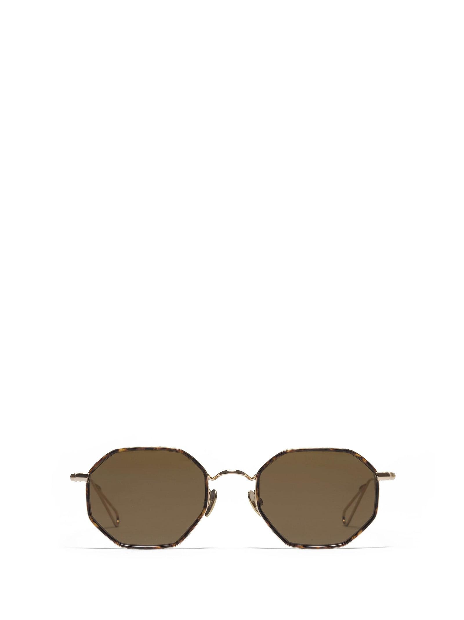 AHLEM Ahlem Luxembourg Champagne Turtle Windsor Sunglasses