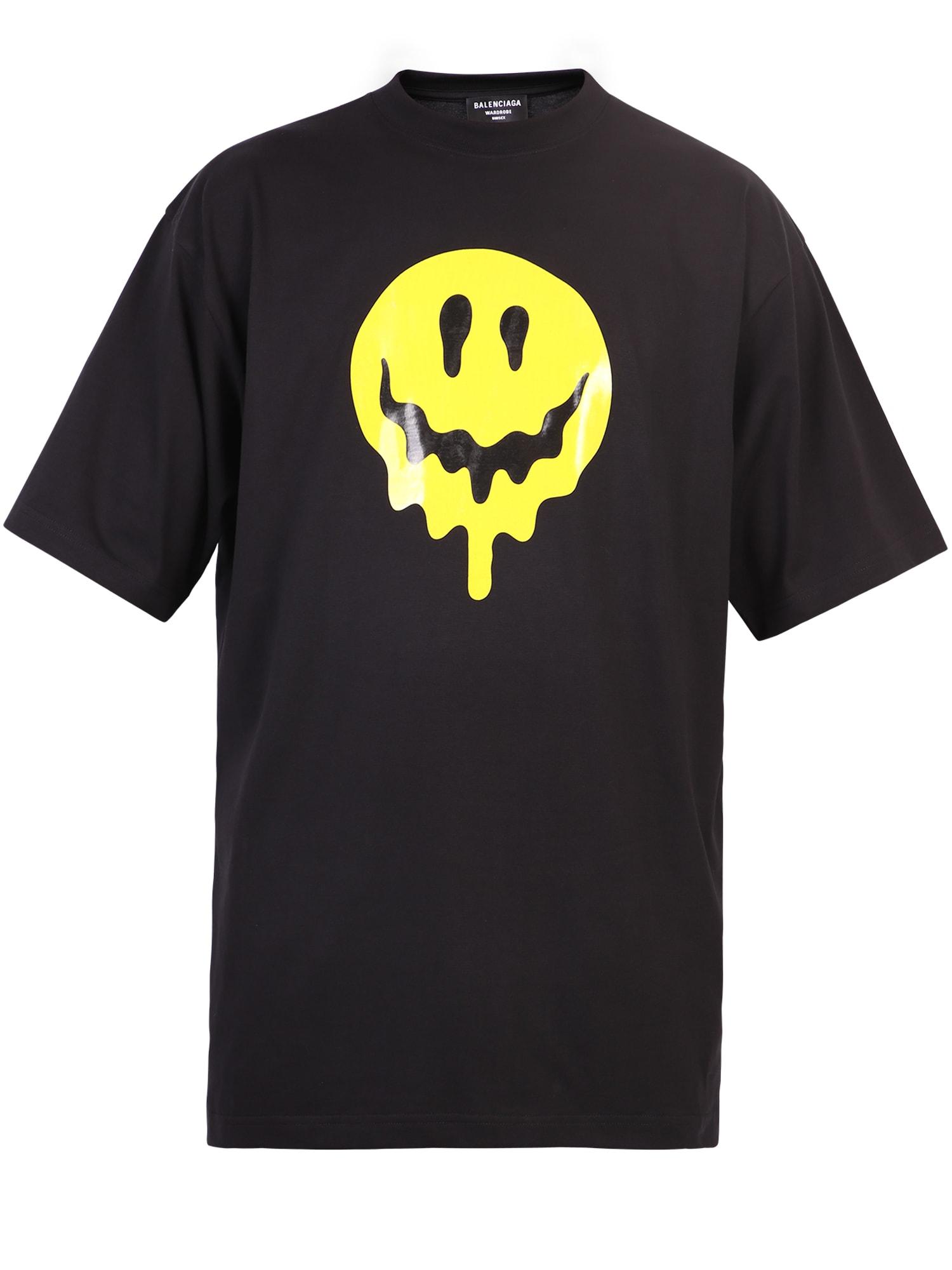 Balenciaga T-shirts PRINTED T-SHIRT