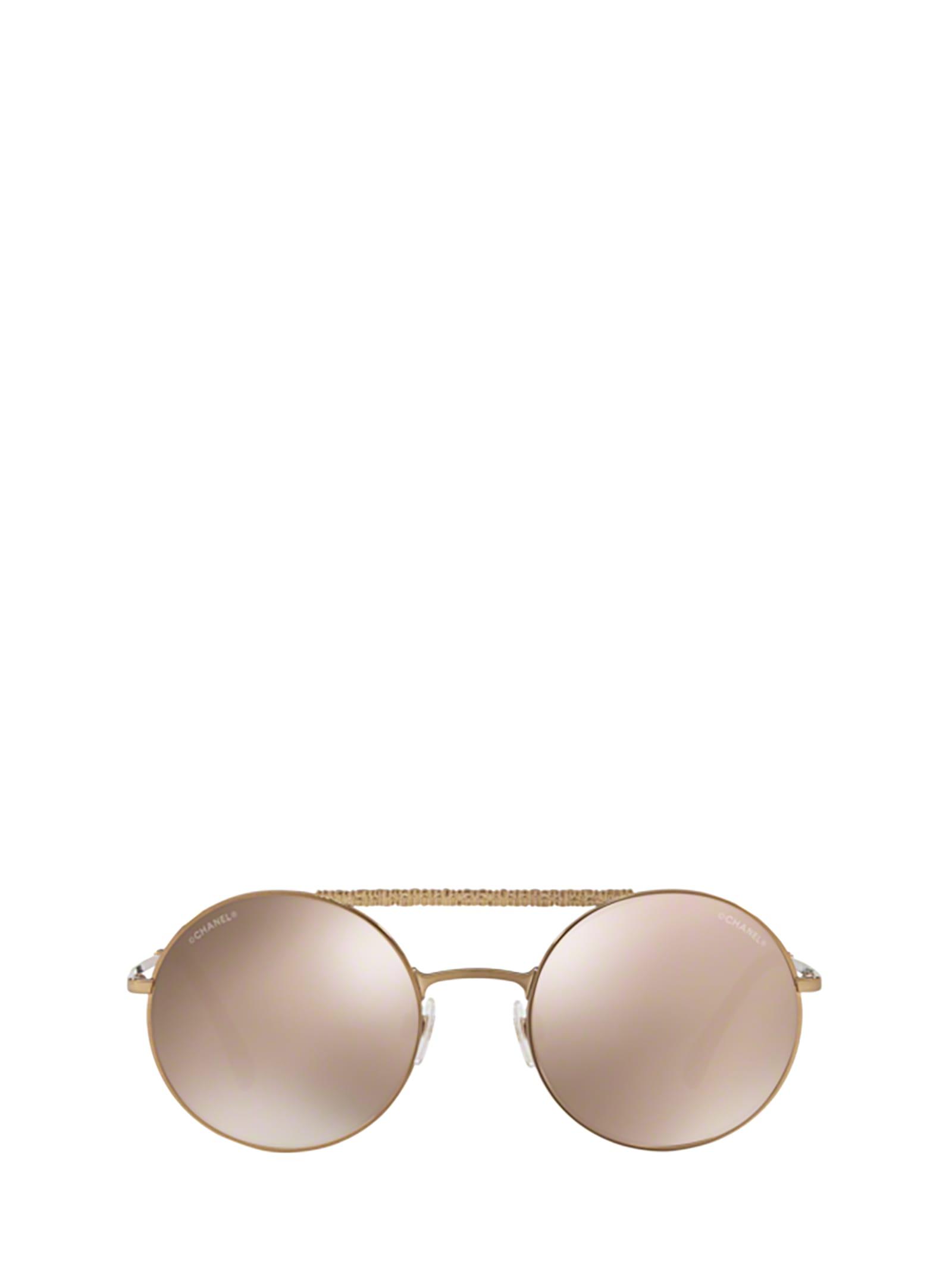 Chanel Chanel Ch4232 Antique Gold Sunglasses