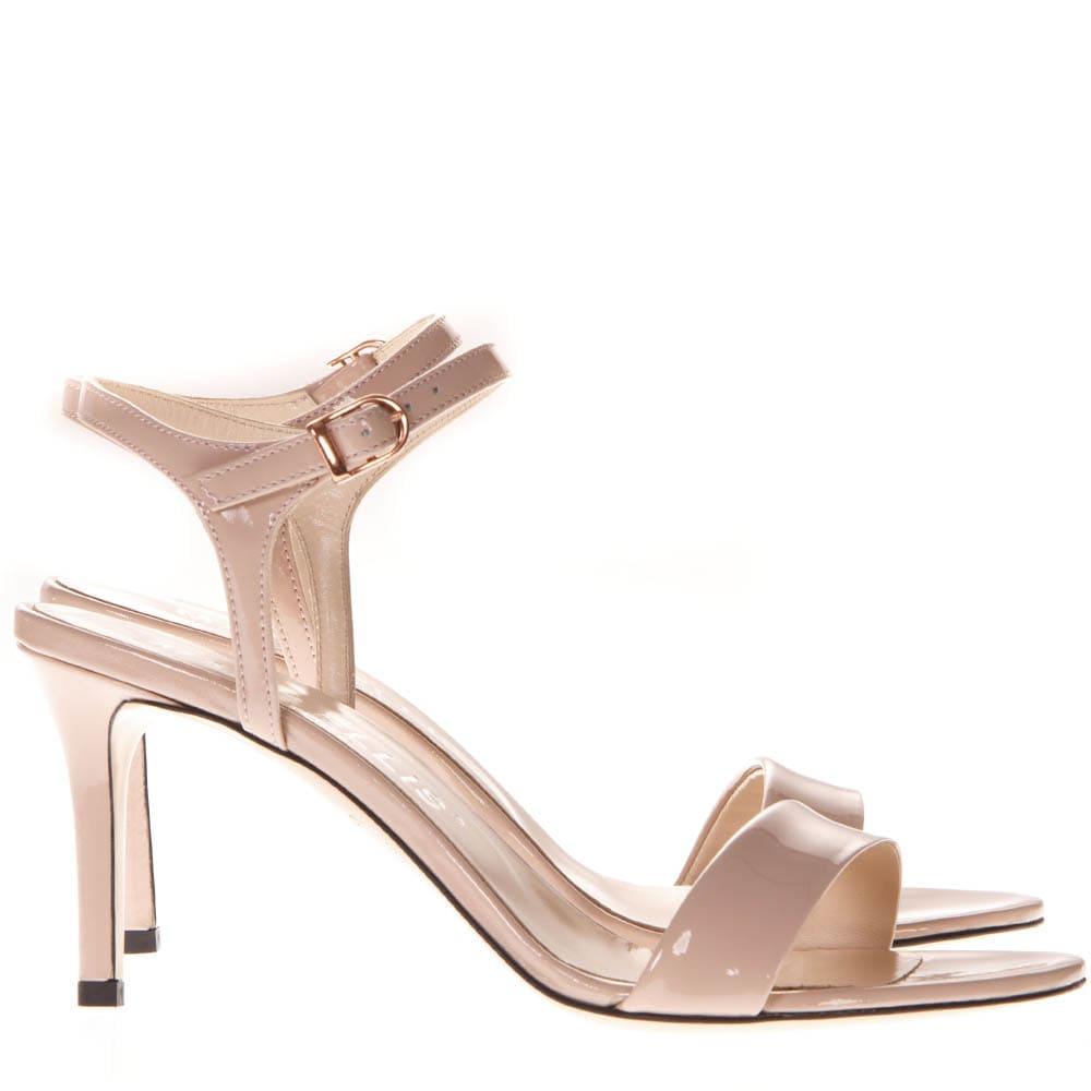Powder Patent Leather Sandals