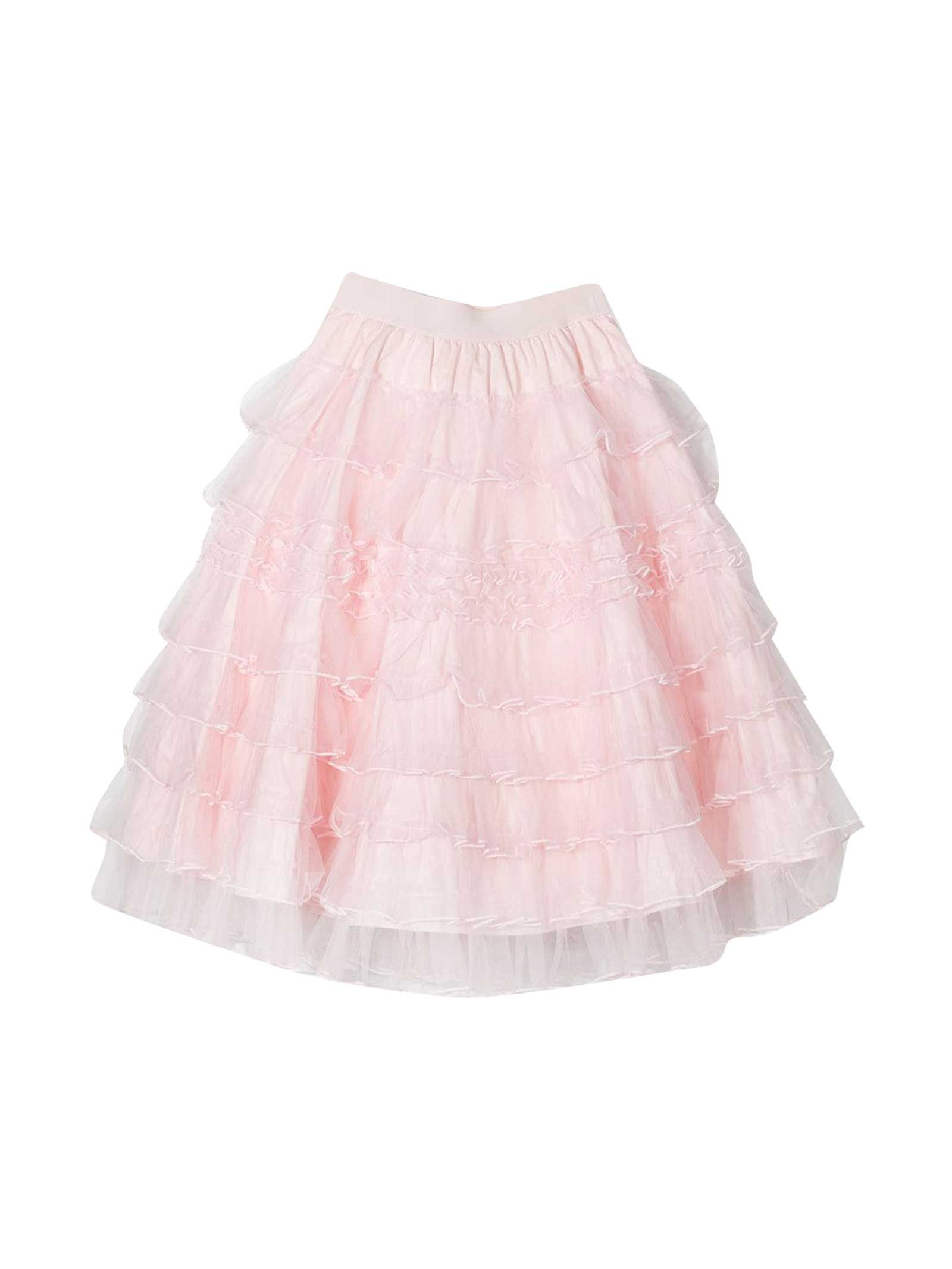 Pink Skirt Teen