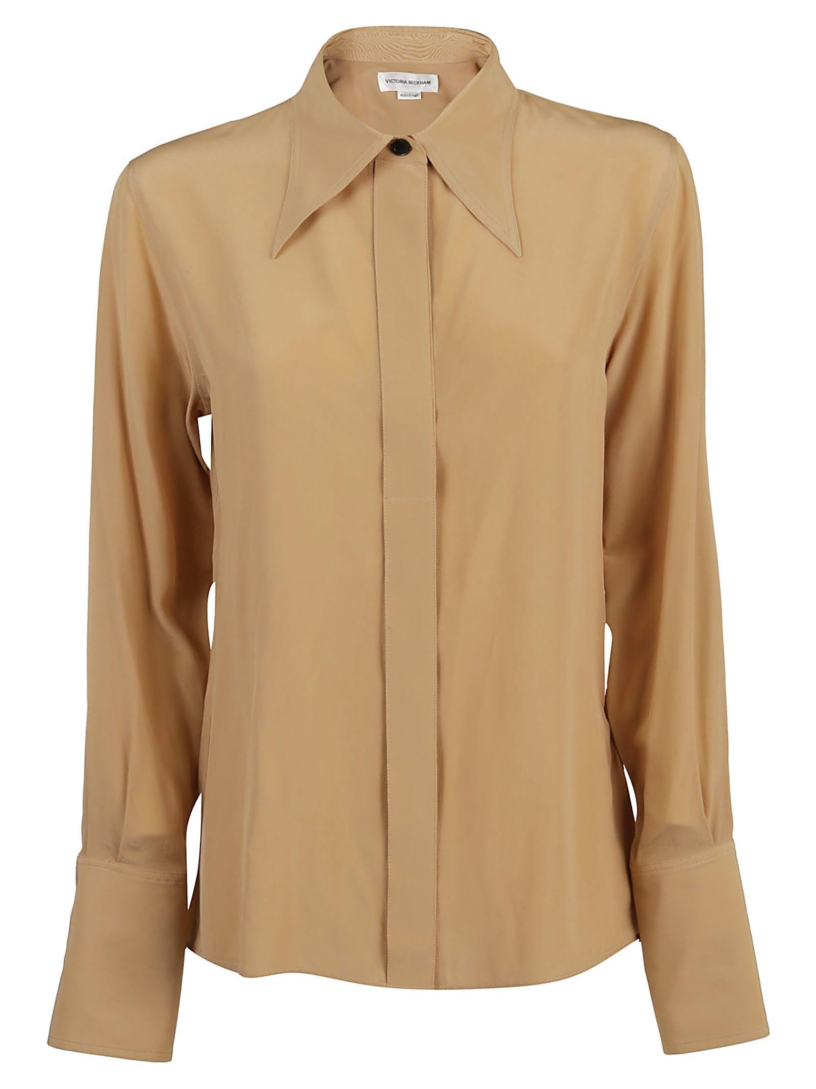 Victoria Beckham Camicia Collar 70`s