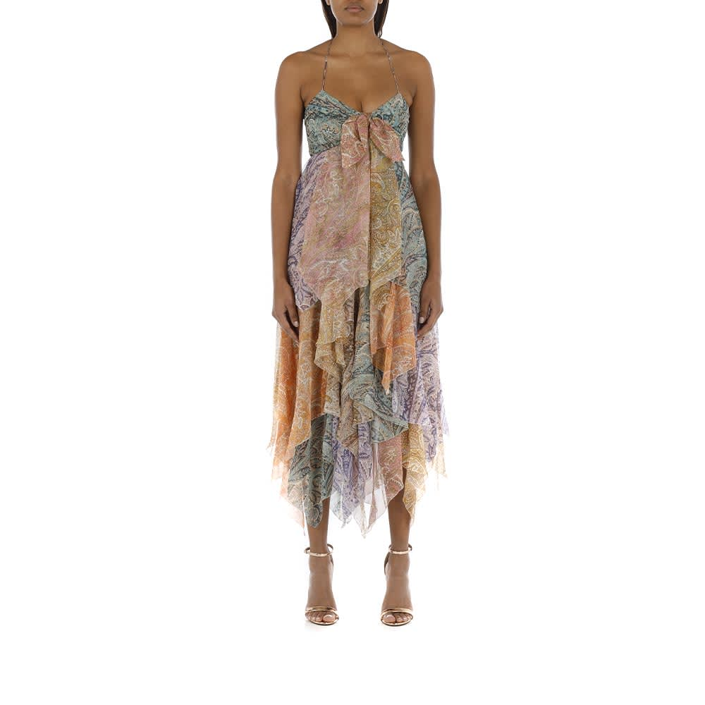 Buy Brighton Hanky Hem Dress online, shop Zimmermann with free shipping