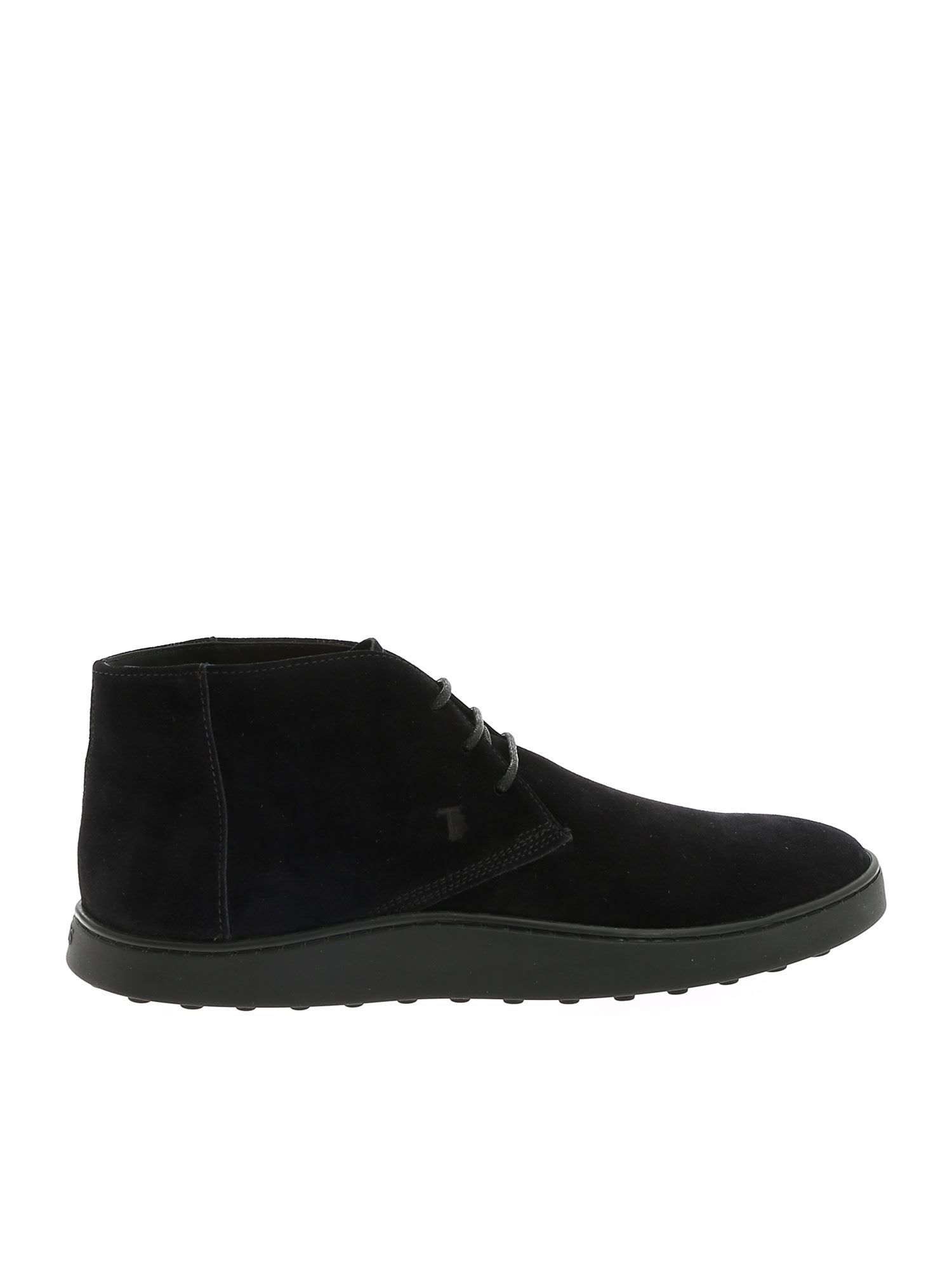 Tods Tabbed Sole Ankle Boots