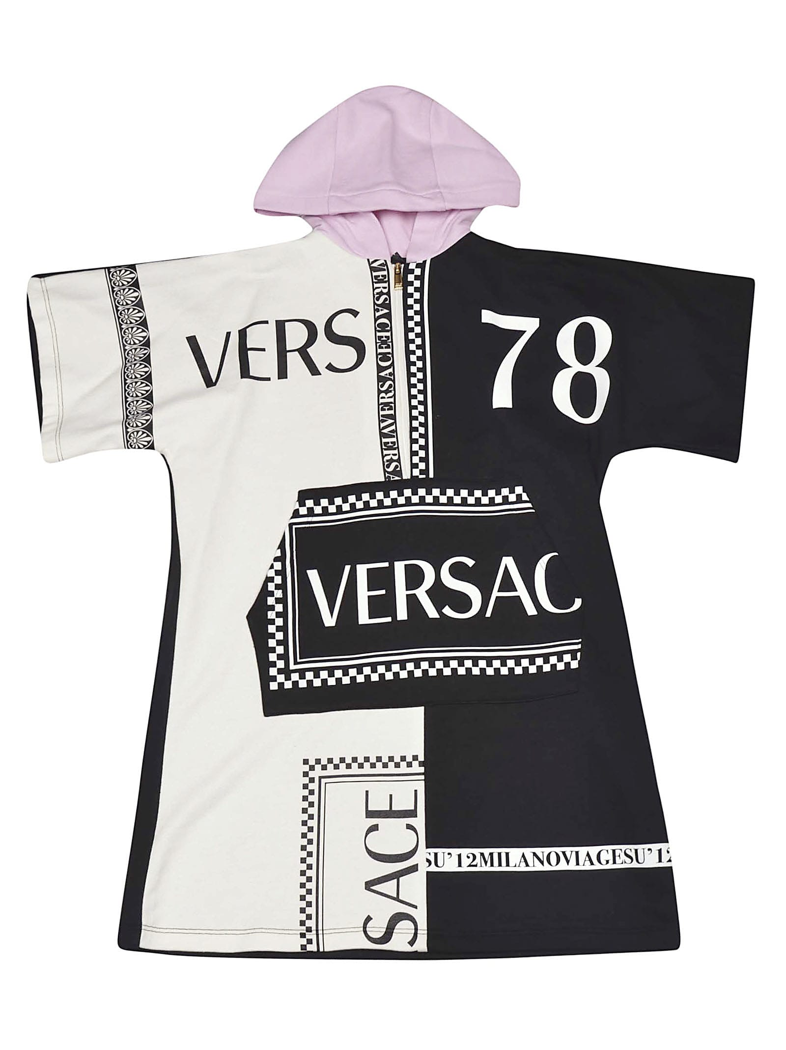 Versace Logo Dress