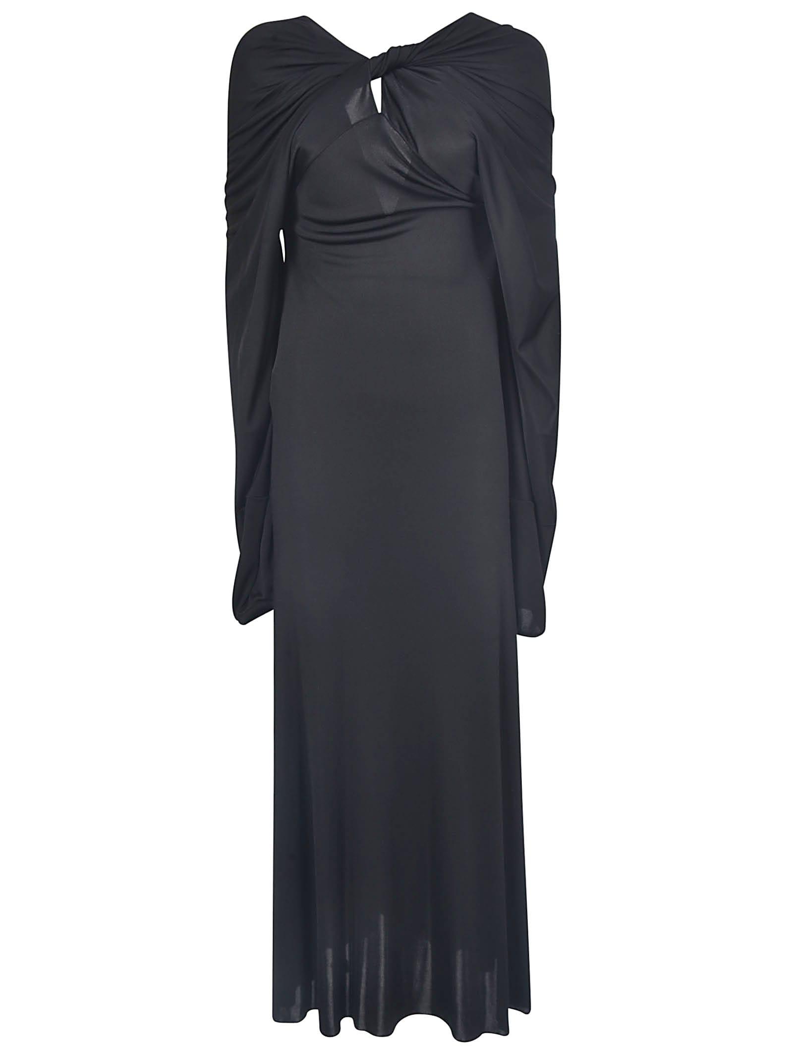 Maison Margiela Deep V-back Long Dress