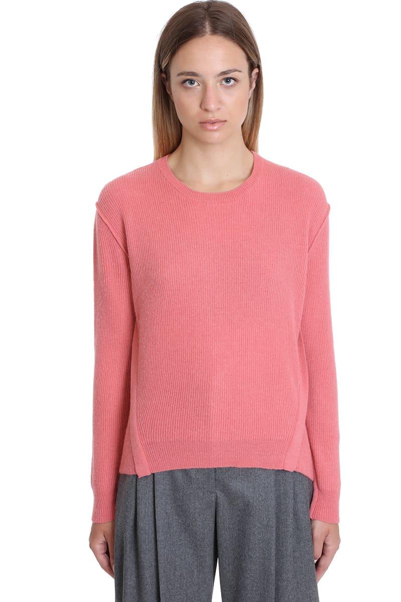 Stella McCartney Knitwear In Rose-pink Wool