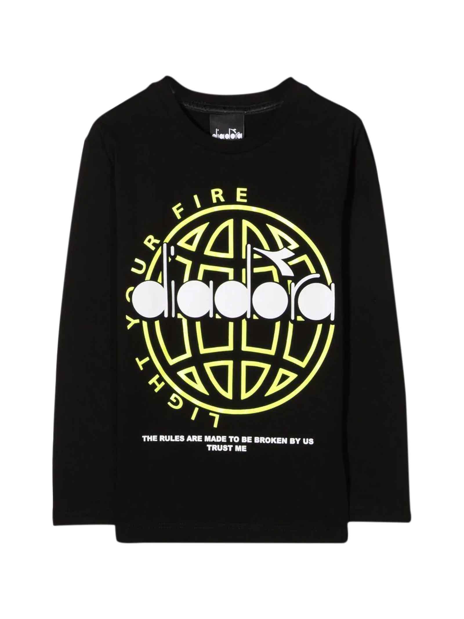 Black Teen T-shirt