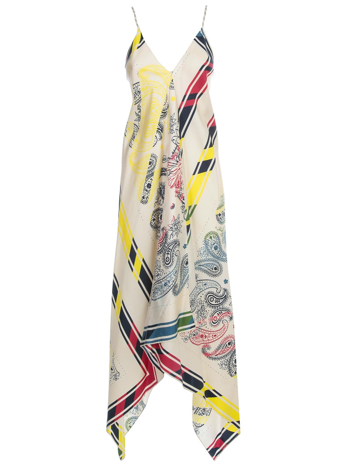 Buy Golden Goose Dress Blancket Thin Strap Silk Fantasy online, shop Golden Goose with free shipping