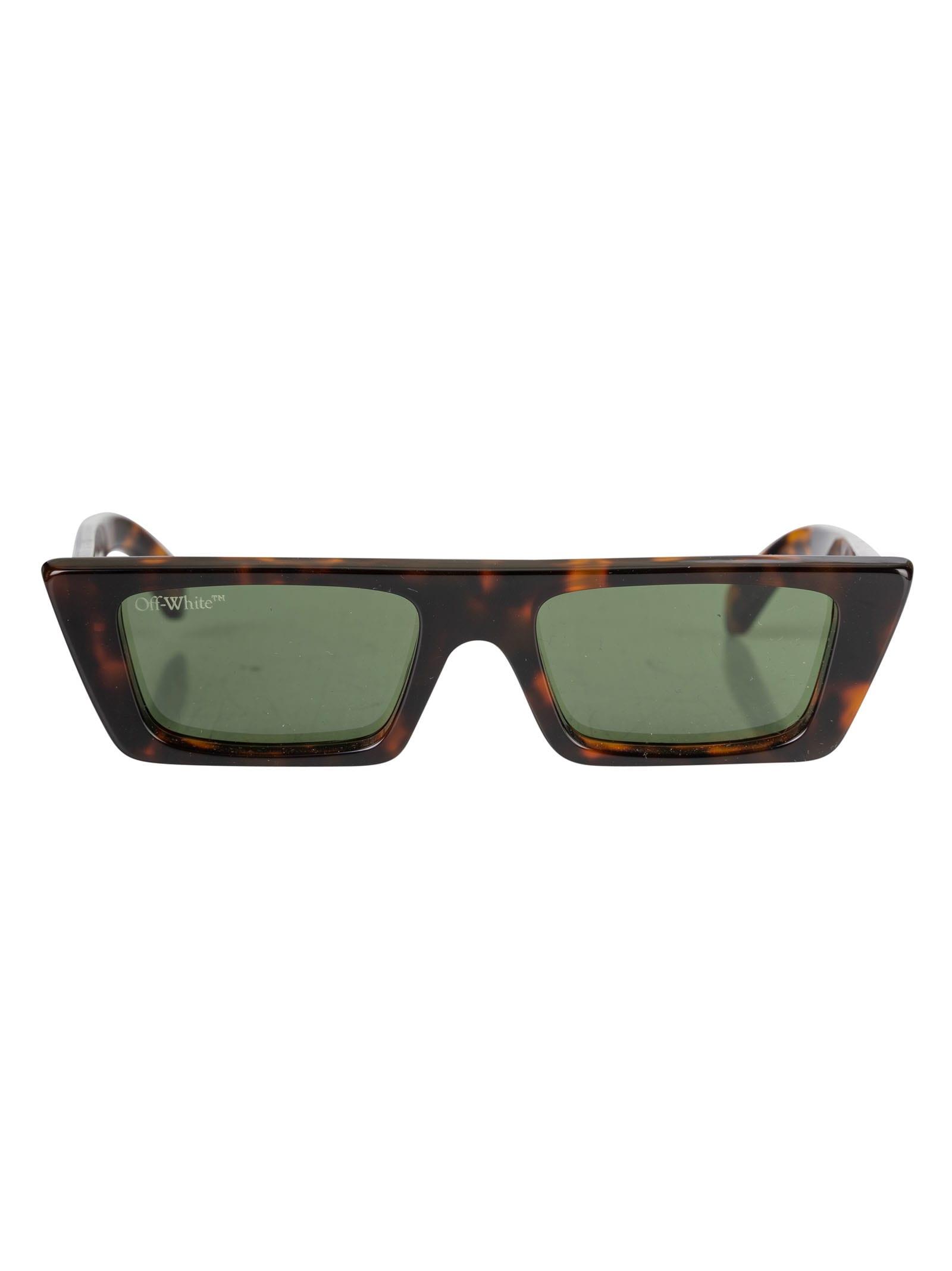Off-white Marfa Sunglasses In Brown/green