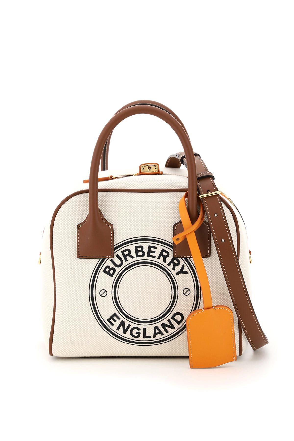 Burberry Canvases SMALL CUBE BAG