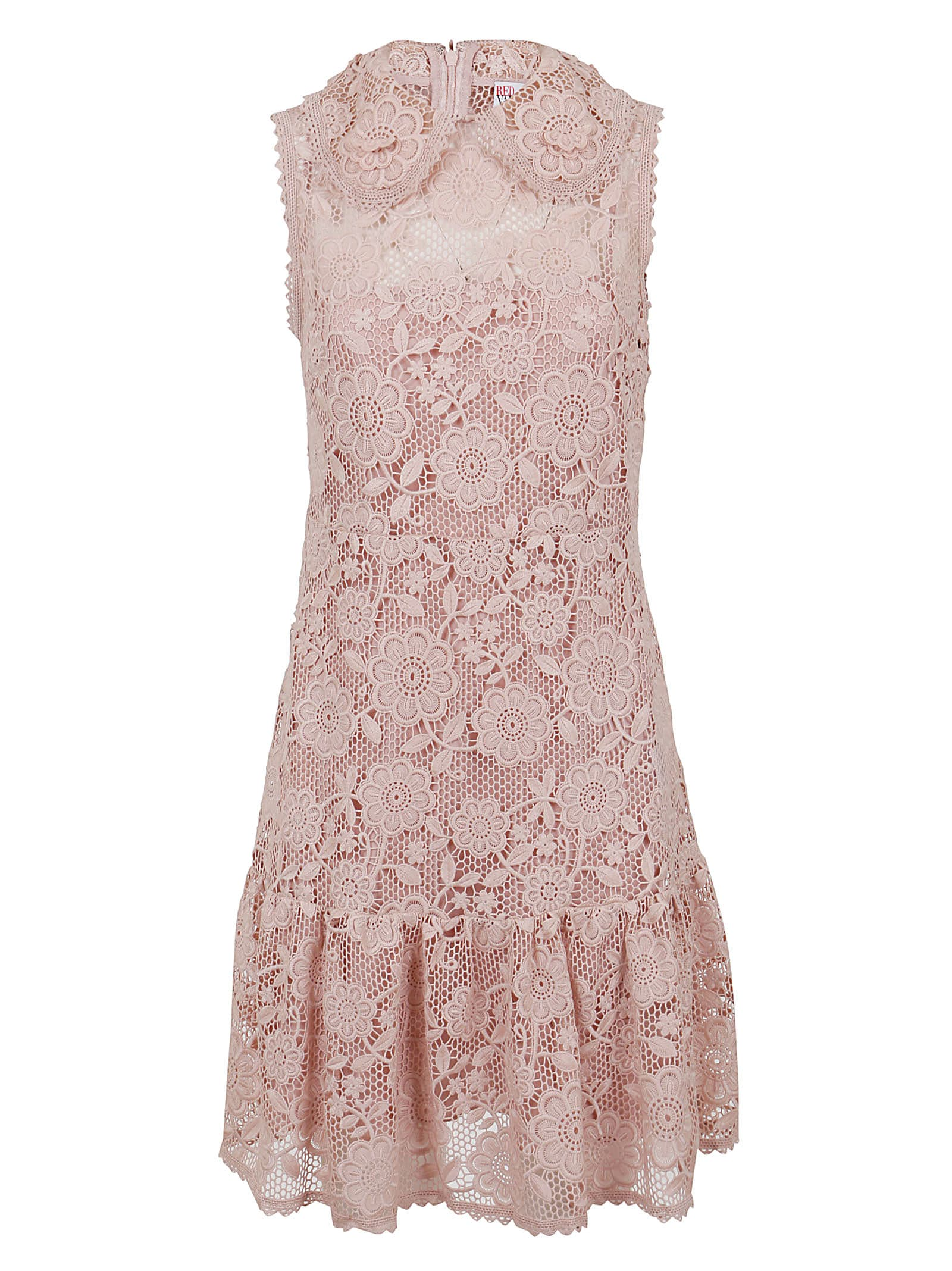 Buy RED Valentino Dress In Macrame` online, shop RED Valentino with free shipping