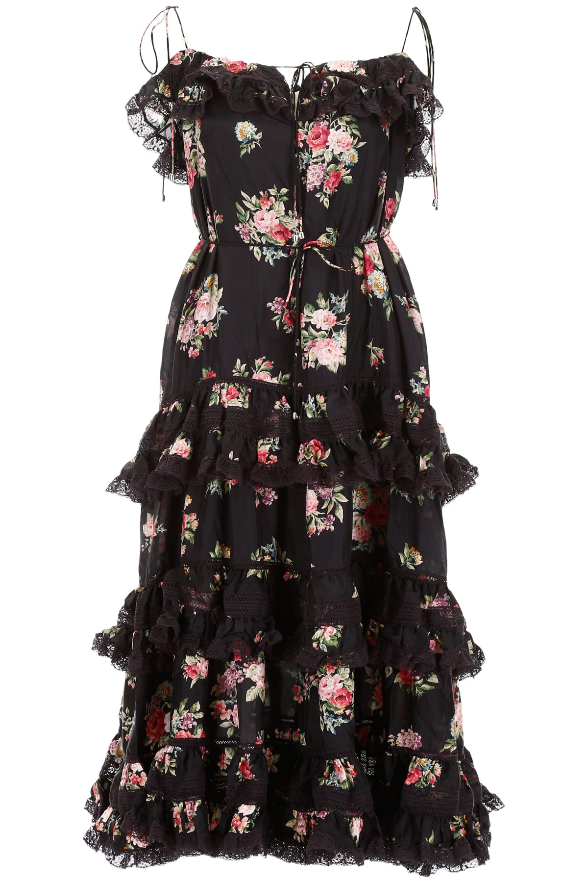 Zimmermann Floral Printed Dress