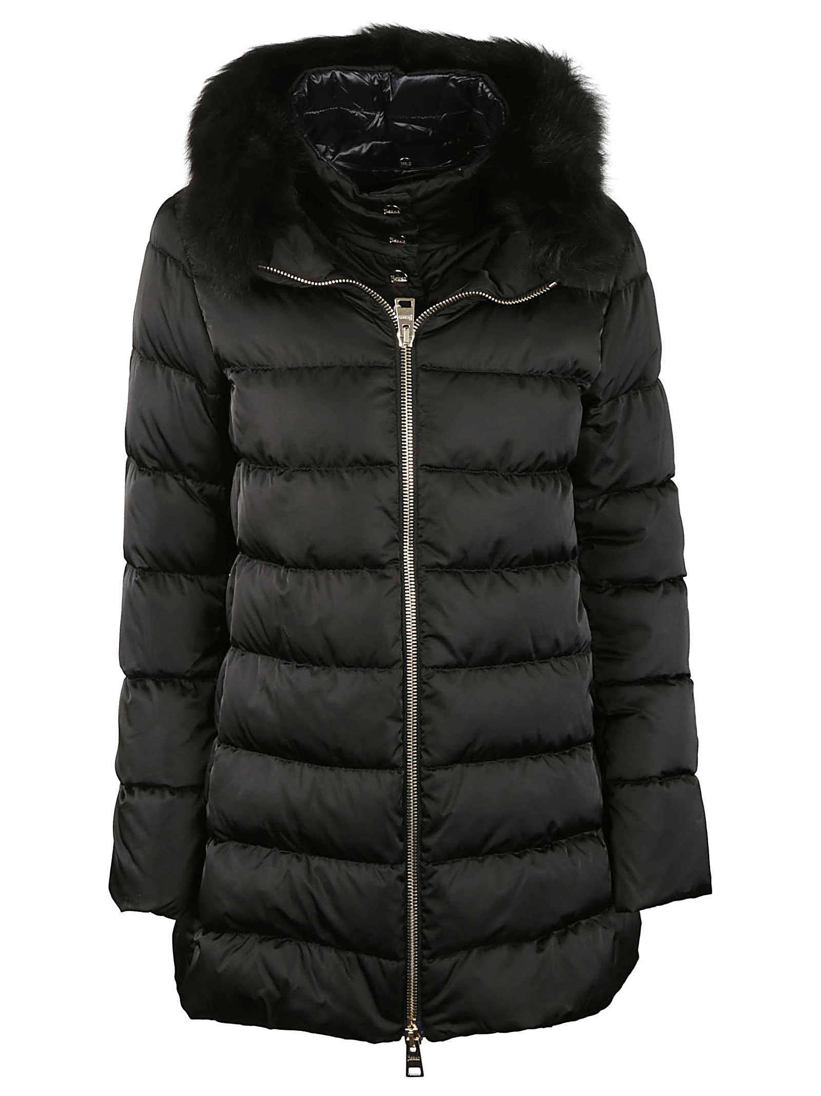 Herno Fur Trim Padded Jacket