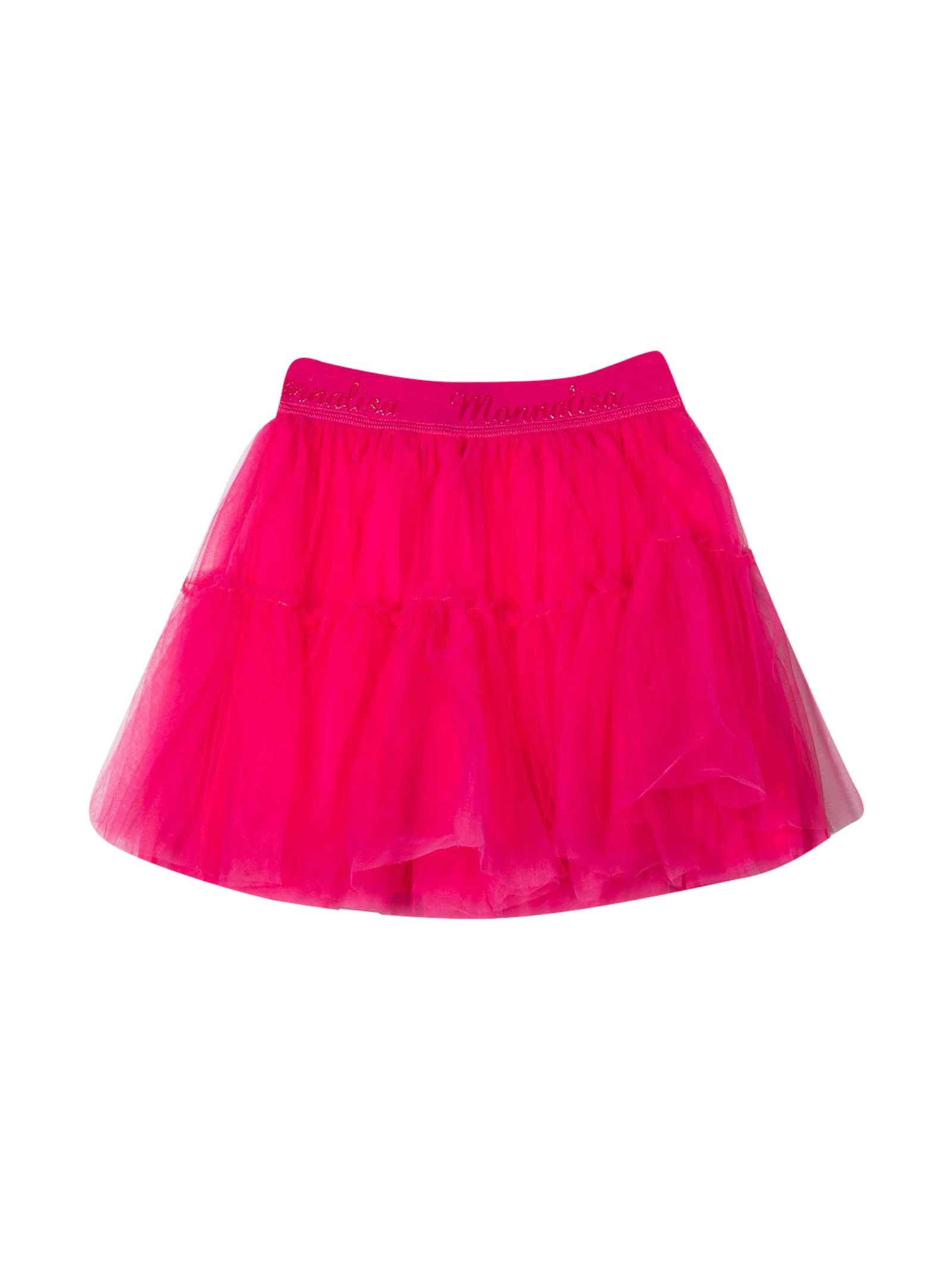 Monnalisa Monnalisa Fuchsia Skirt