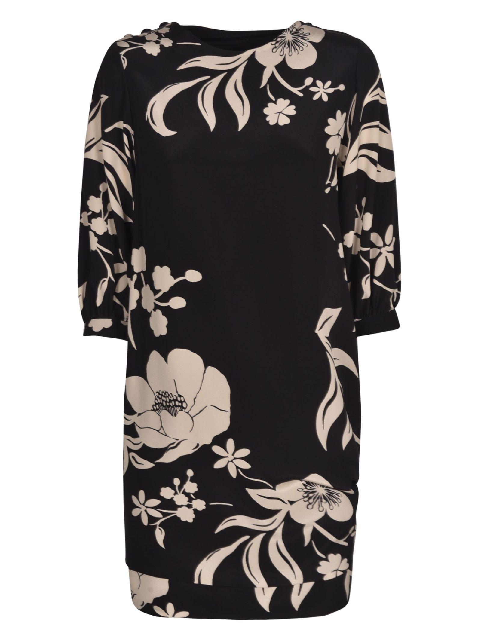 Buy Ermanno Scervino Floral Dress online, shop Ermanno Scervino with free shipping