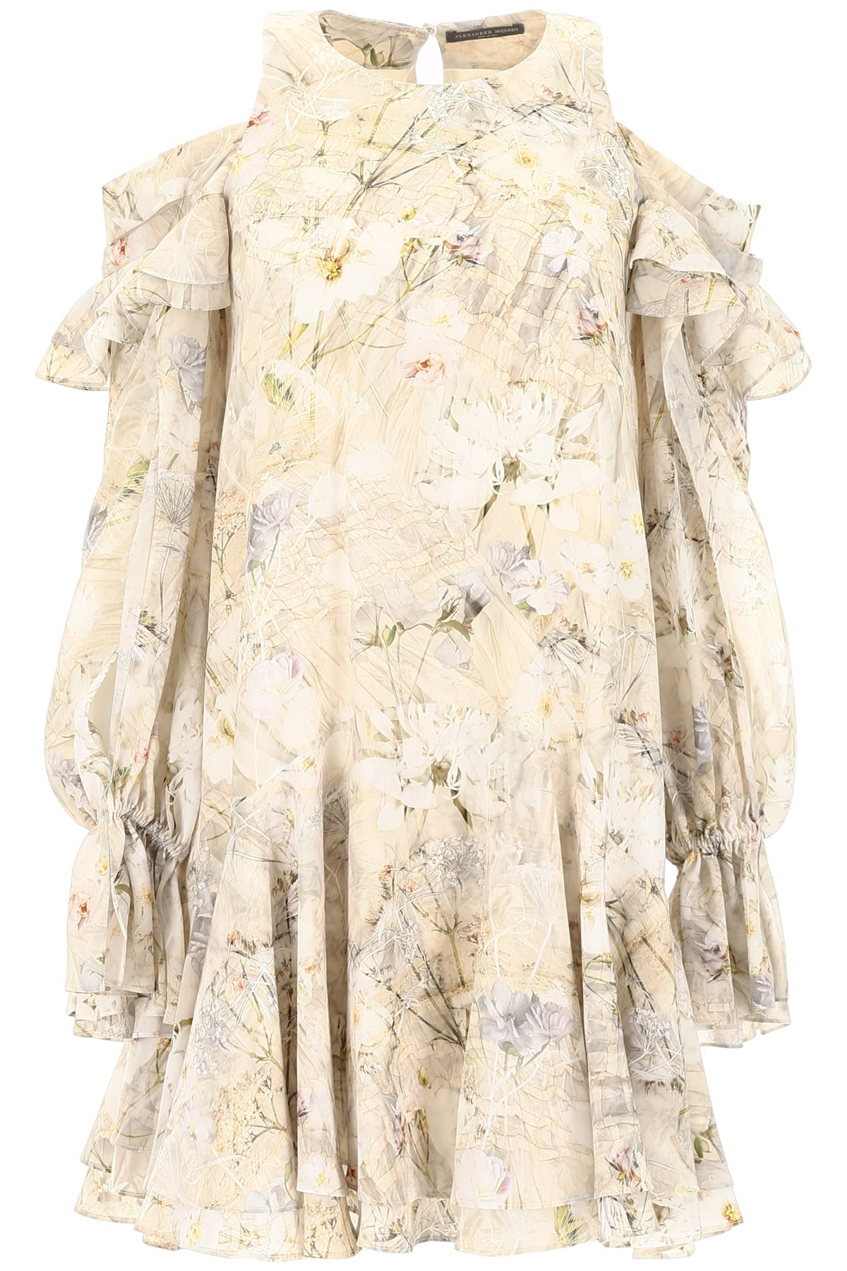 Buy Alexander McQueen Ophelia Dress online, shop Alexander McQueen with free shipping