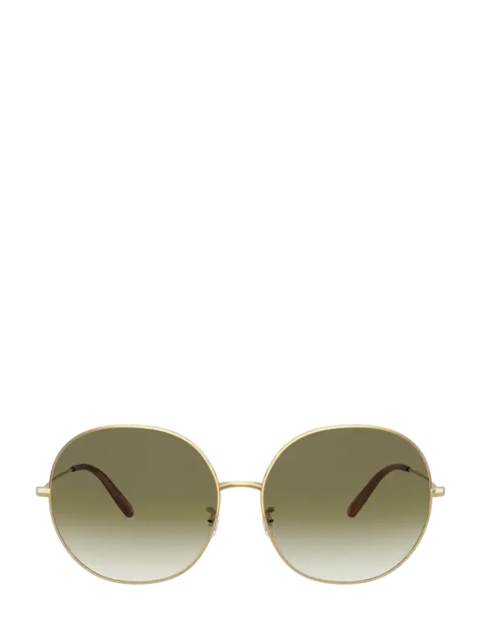 Oliver Peoples Oliver Peoples Ov1280s Gold Sunglasses