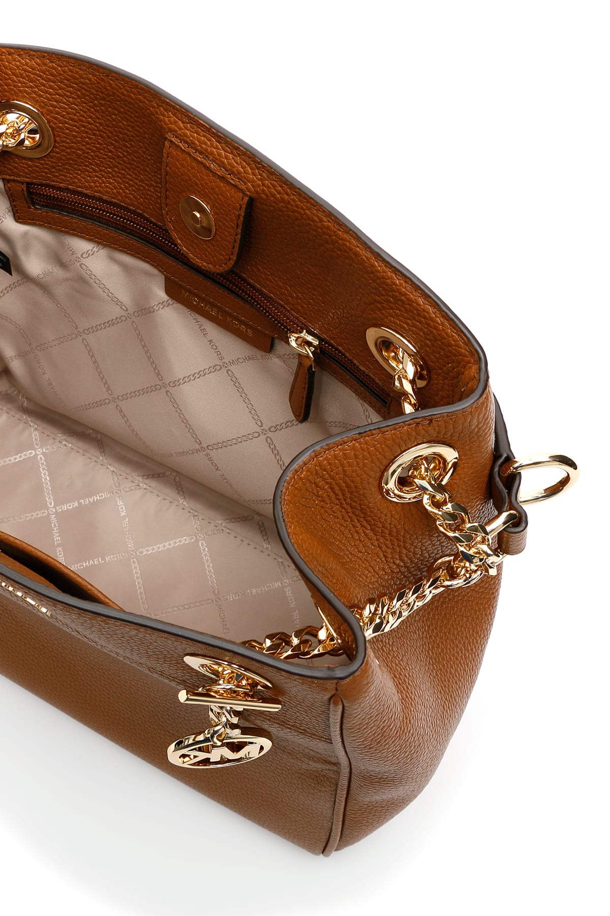 Best price on the market at italist | MICHAEL Michael Kors MICHAEL Michael Kors Jet Set Chain Legacy Bag