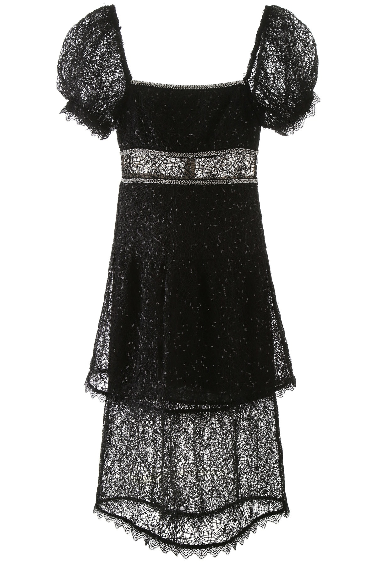 Buy self-portrait Dress With Sequins And Crystals online, shop self-portrait with free shipping