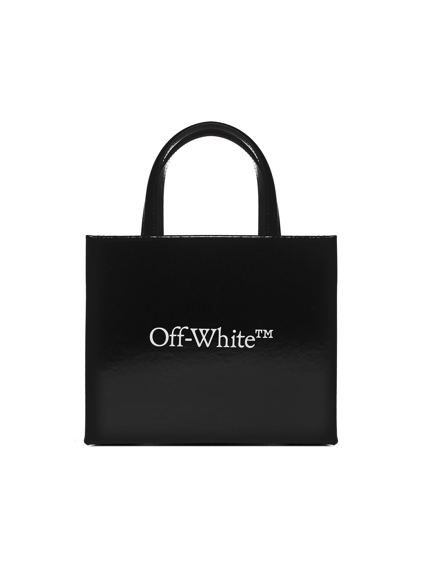 Off-white Tote In Black White