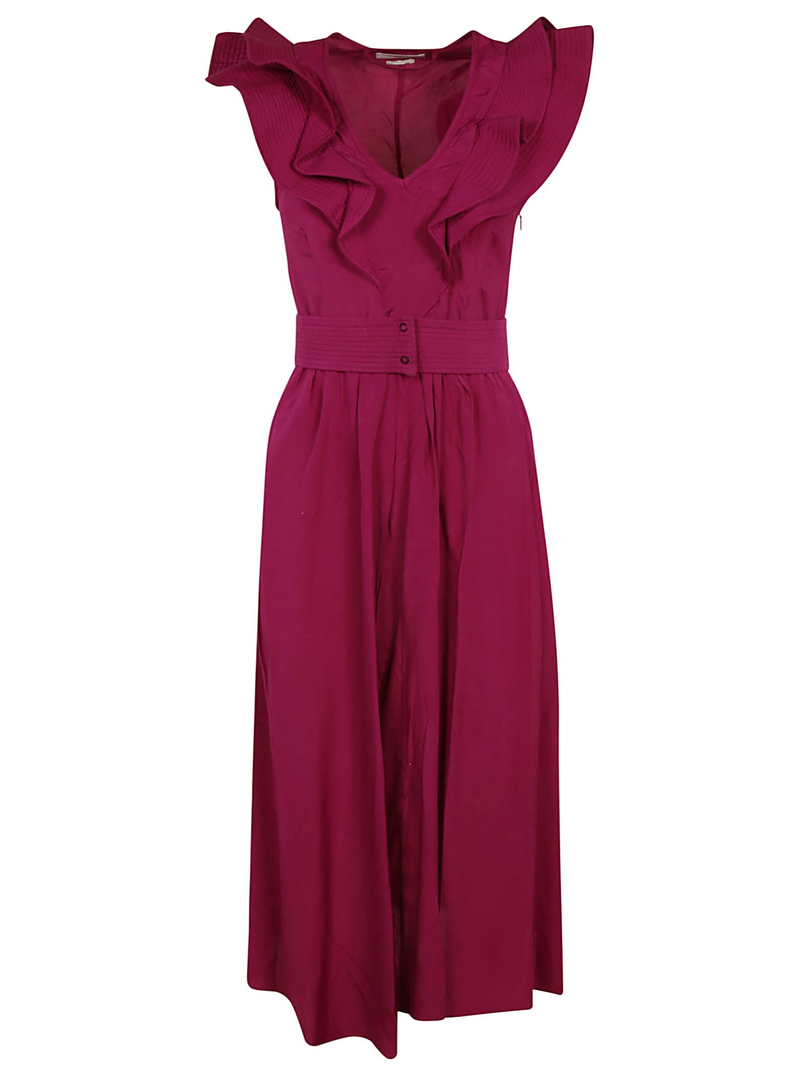 Buy Isabel Marant Sleeveless Ruffled Maxi Dress online, shop Isabel Marant with free shipping