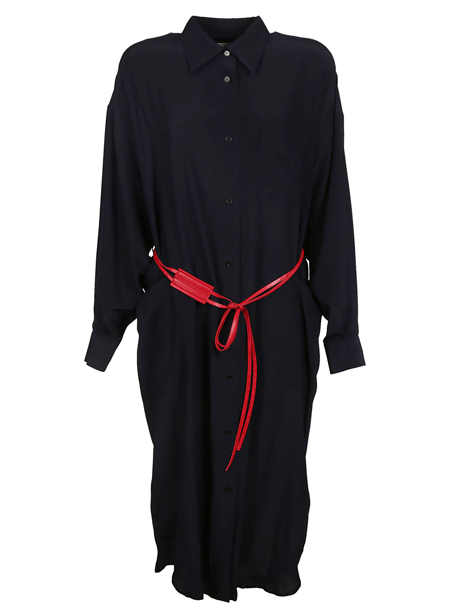 Photo of  Victoria Beckham Buttoned Dress- shop Victoria Beckham  online sales