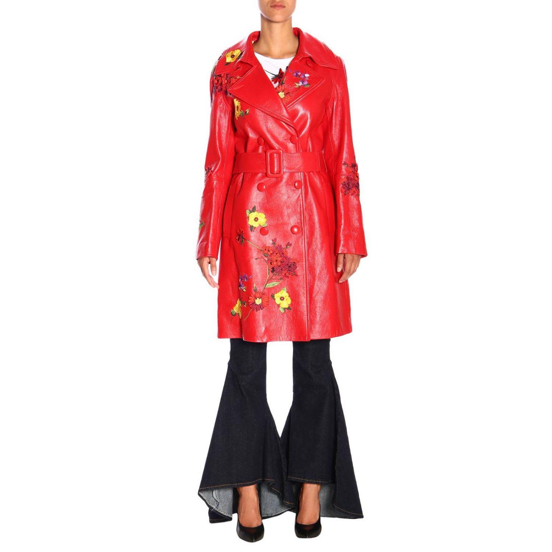 Blumarine Coat Coat Women Blumarine