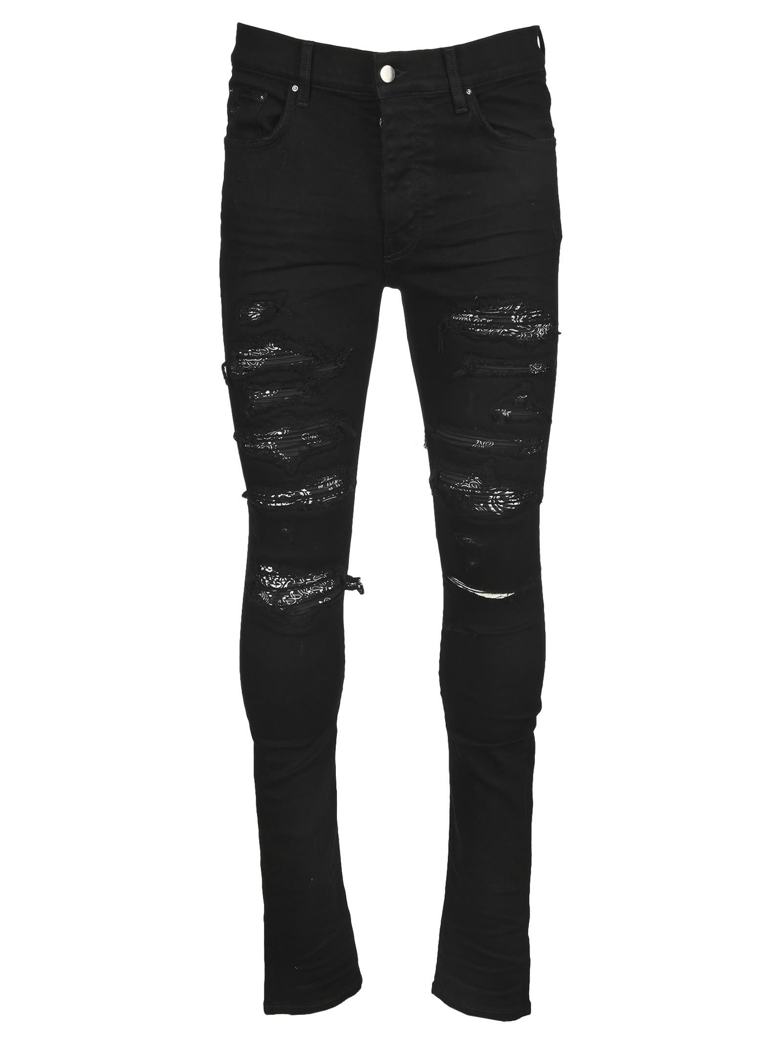 Amiri Distressed-effect Slim-fit Jeans