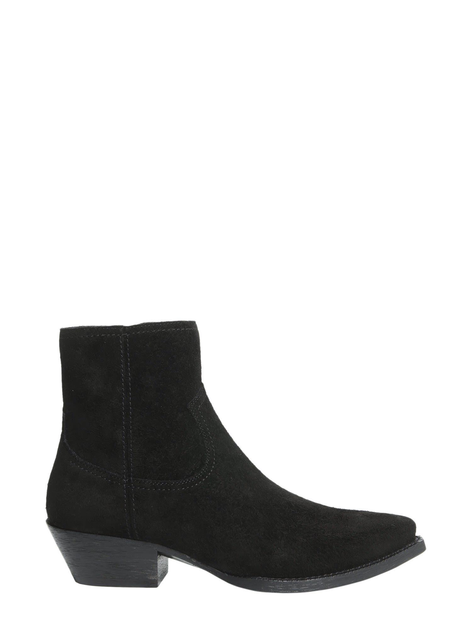 Buy Saint Laurent Lukas 40 Boots online, shop Saint Laurent shoes with free shipping