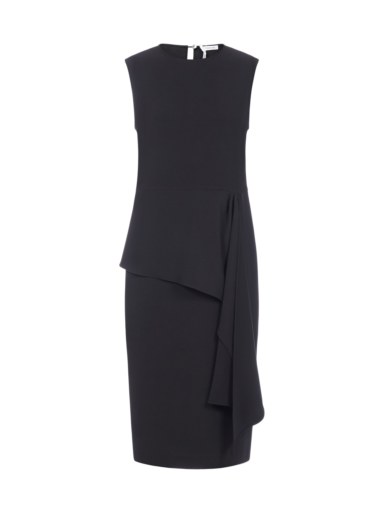Buy Parosh Pirate Asymmetrical Ruffle Pencil Dress online, shop Parosh with free shipping