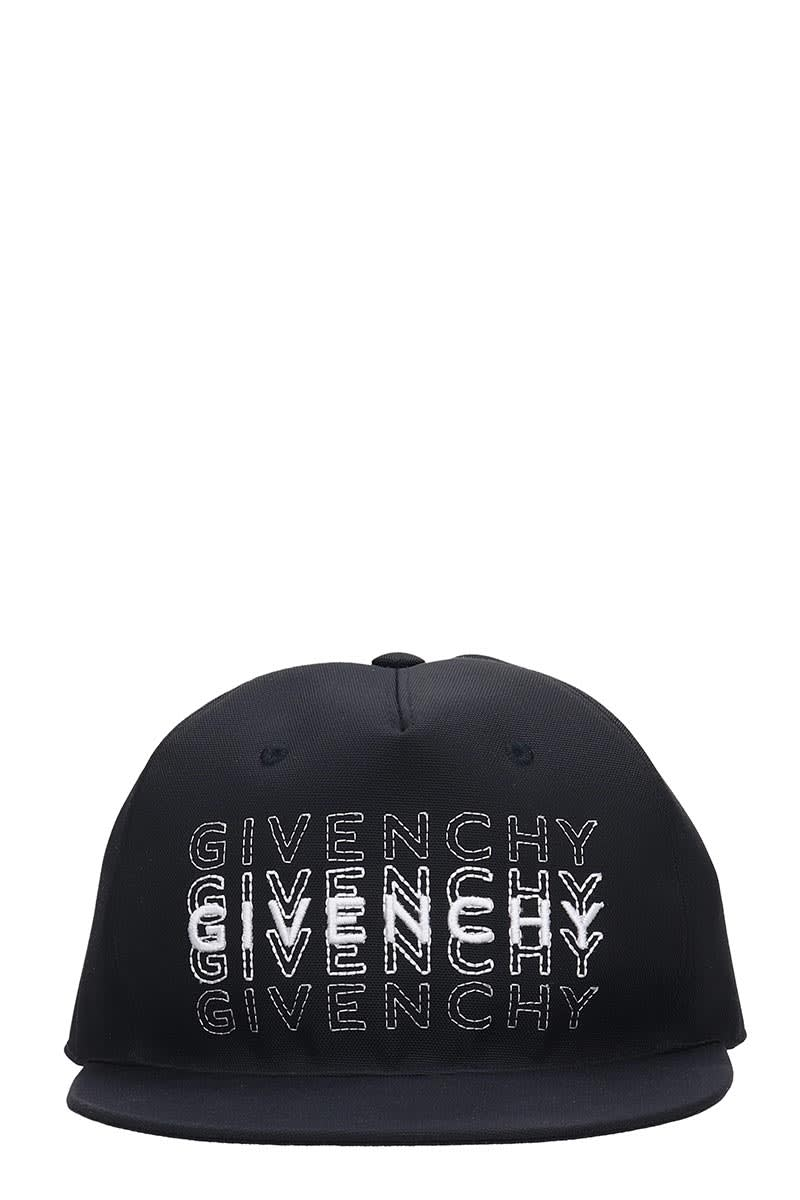 top design 50% price thoughts on Best price on the market at italist   Givenchy Givenchy Curved Cap Hats In  Black Polyamide
