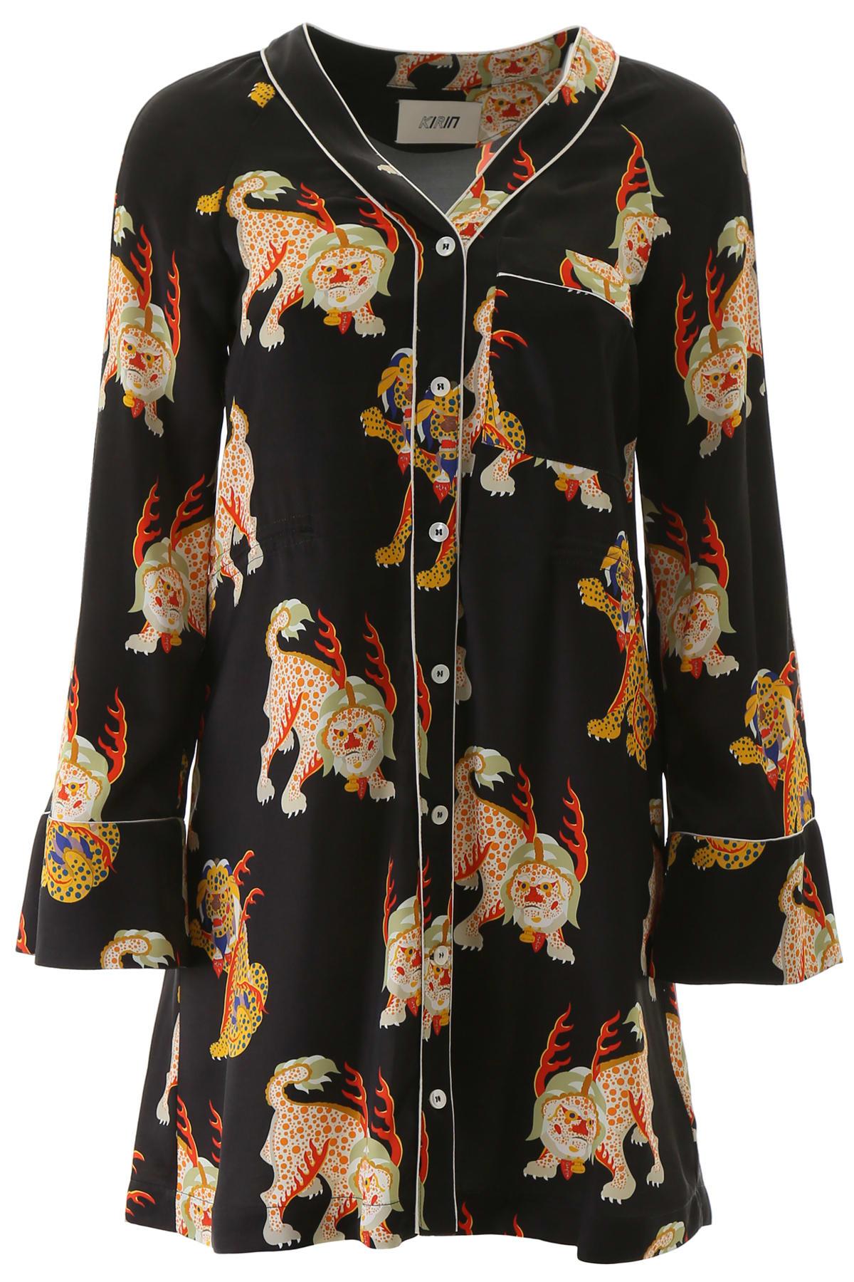 Buy Kirin Haetae Mini Dress online, shop Kirin with free shipping