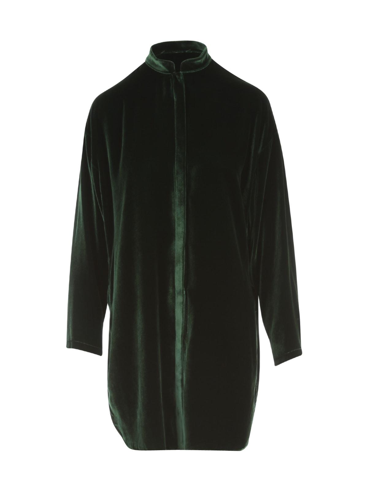 Zira Korean Neck L/s Shirt W/slits