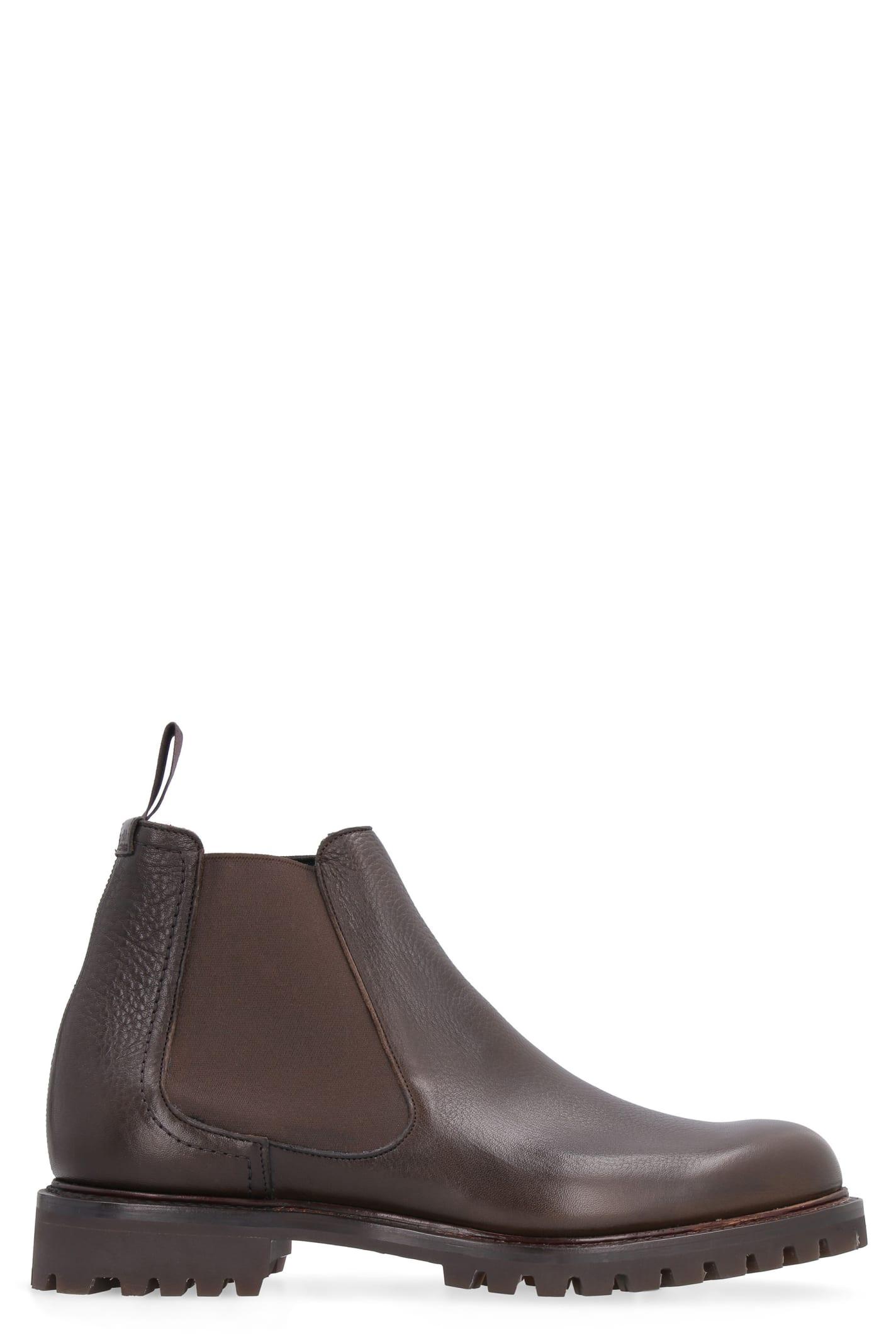 Churchs Cornwood Leather Chelsea Boots